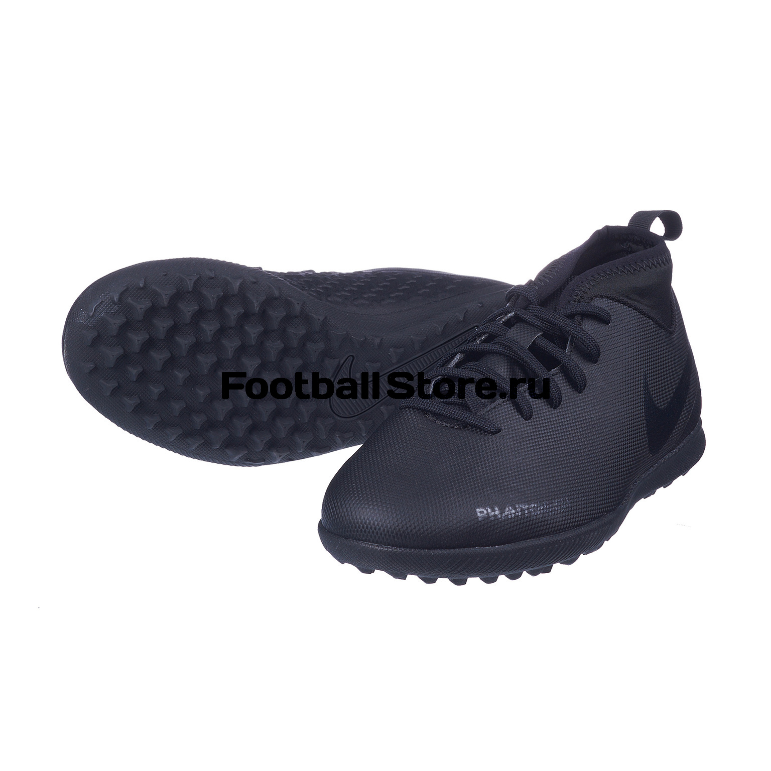 Шиповки детские Nike Phantom Vision Club DF TF AO3294-001 бутсы nike шиповки nike jr tiempox legend vi tf 819191 018