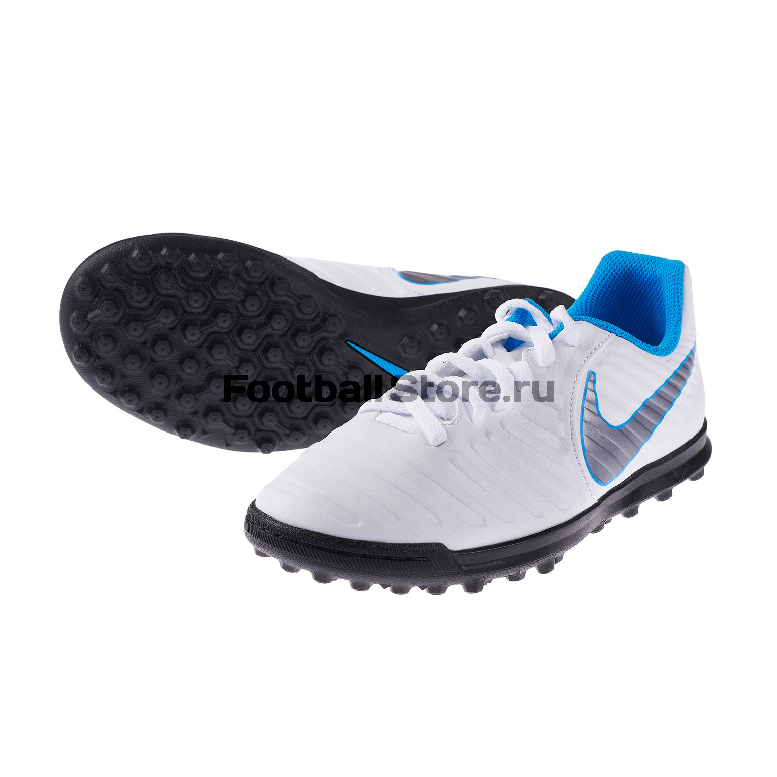 Шиповки детские Nike Legend 7 Club TF AH7261-107 бутсы nike шиповки nike jr tiempox legend vi tf 819191 018