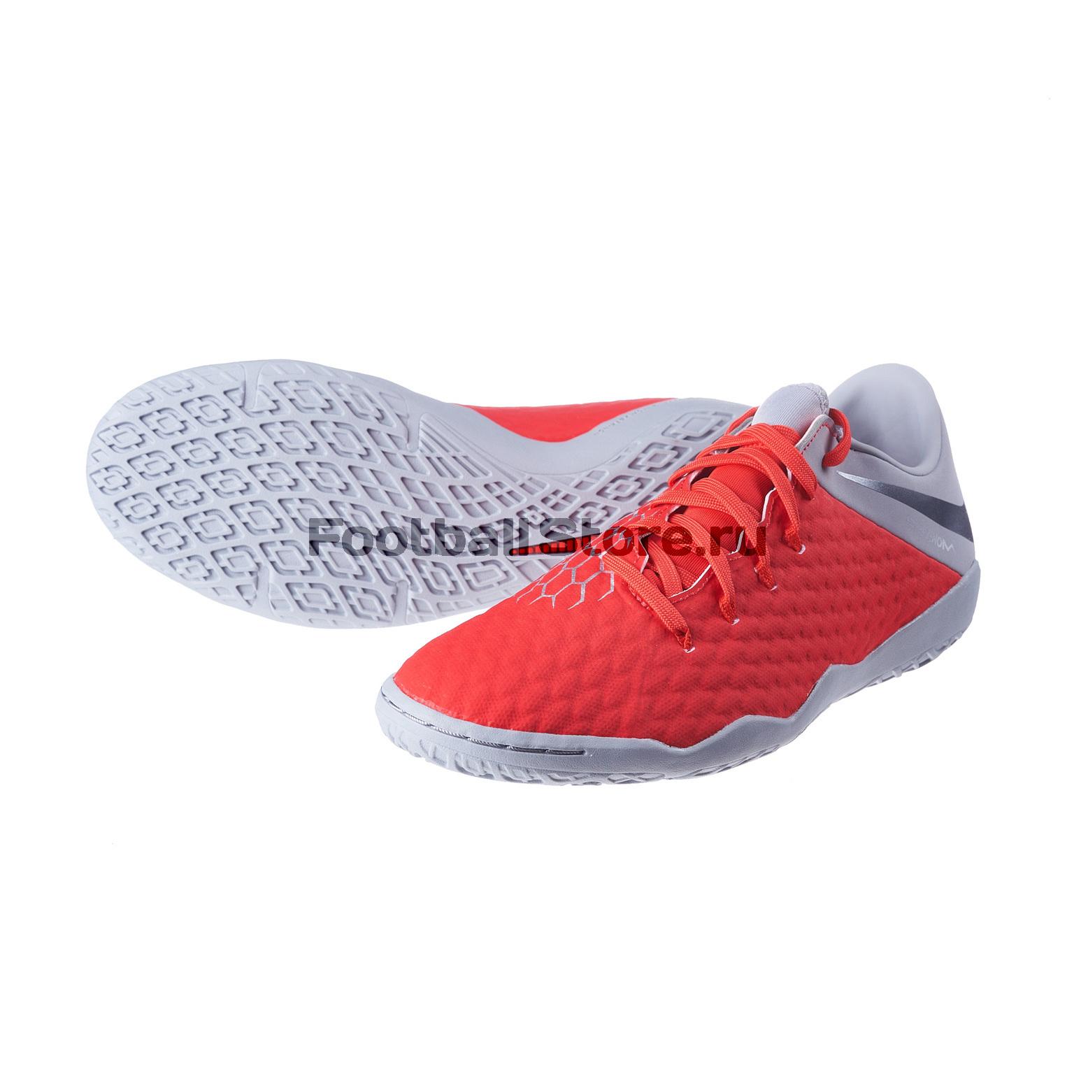fe2ff9864 Футзалки Nike Hypervenom 3 Academy IC AJ3814-600 обувь для зала nike  hypervenom 3 academy