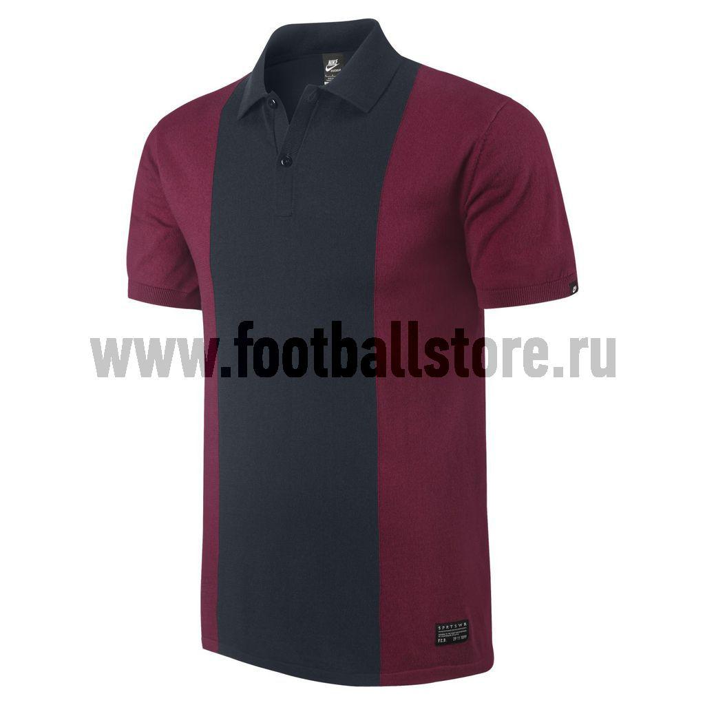 Barcelona Nike Поло Nike gf Barcelona knit polo