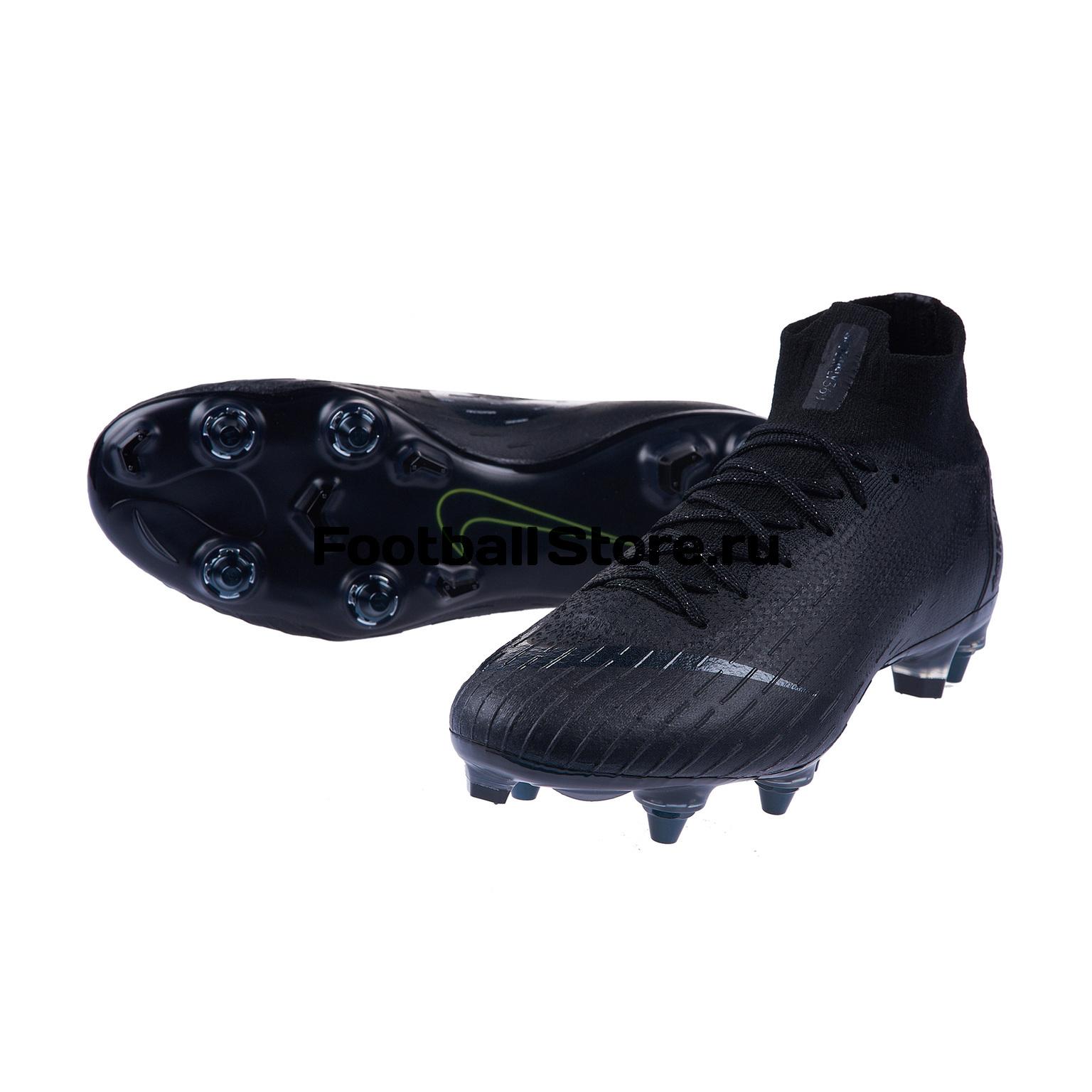 Бутсы Nike Superfly 6 Elite SG-Pro AC AH7366-001 цена и фото