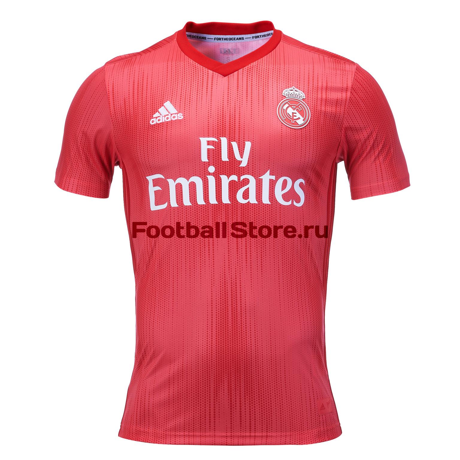 Футболка резервная Adidas Real Madrid 2018/19
