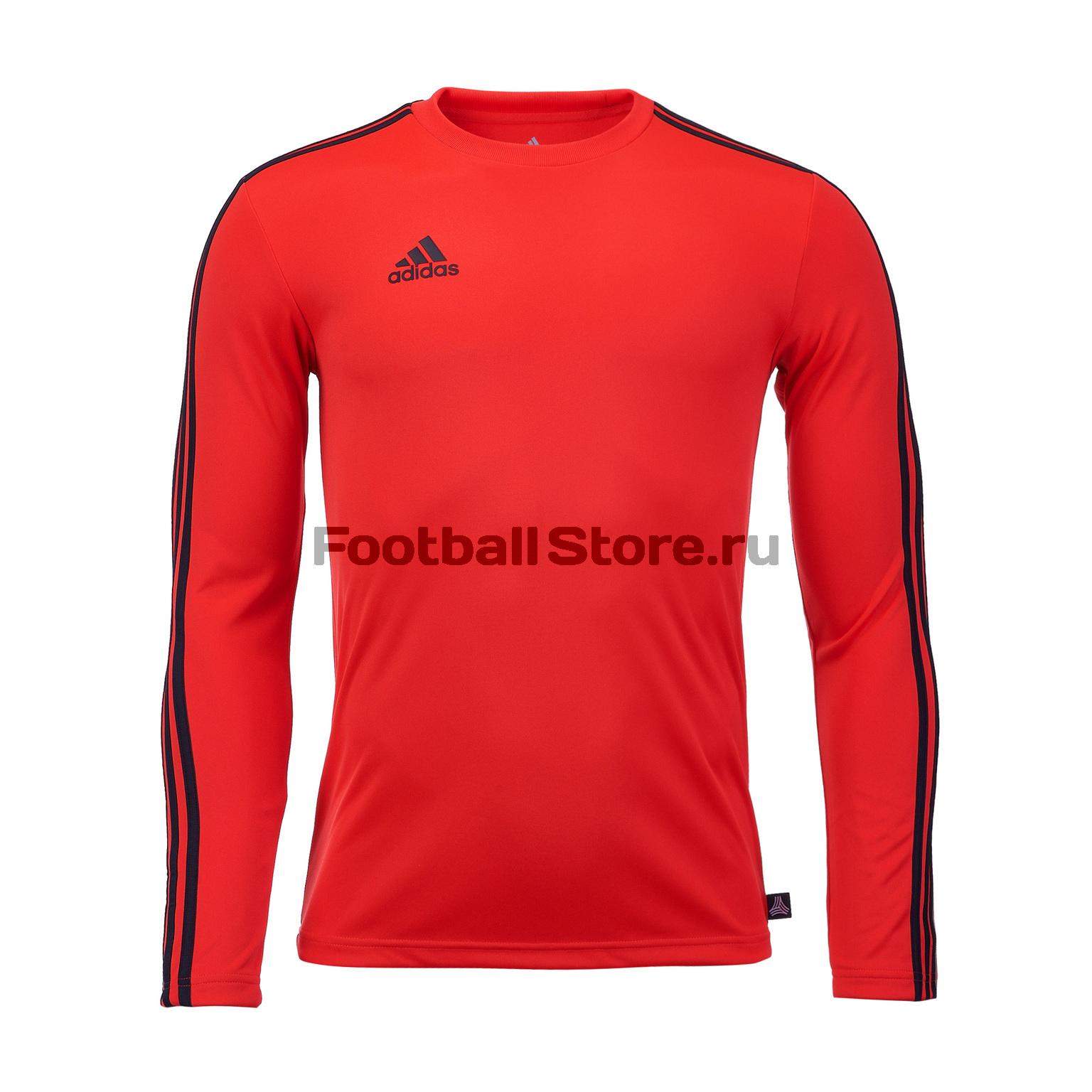 Футболка с длинным рукавом Adidas Tango Terry CZ3995 футболка с длинным рукавом adidas tango tee dj1498