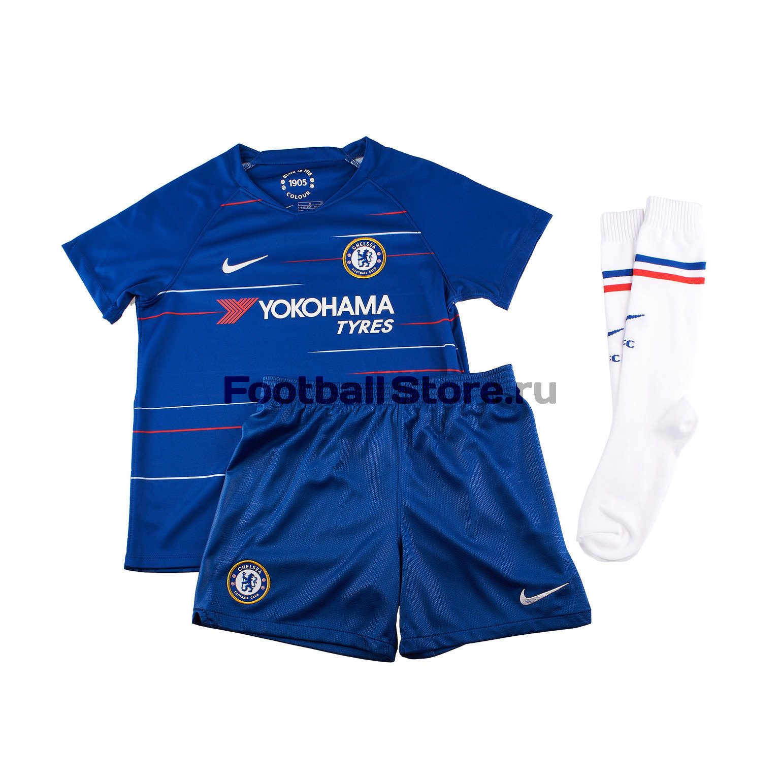 Комплект детской формы Nike Chelsea Home 2018/19