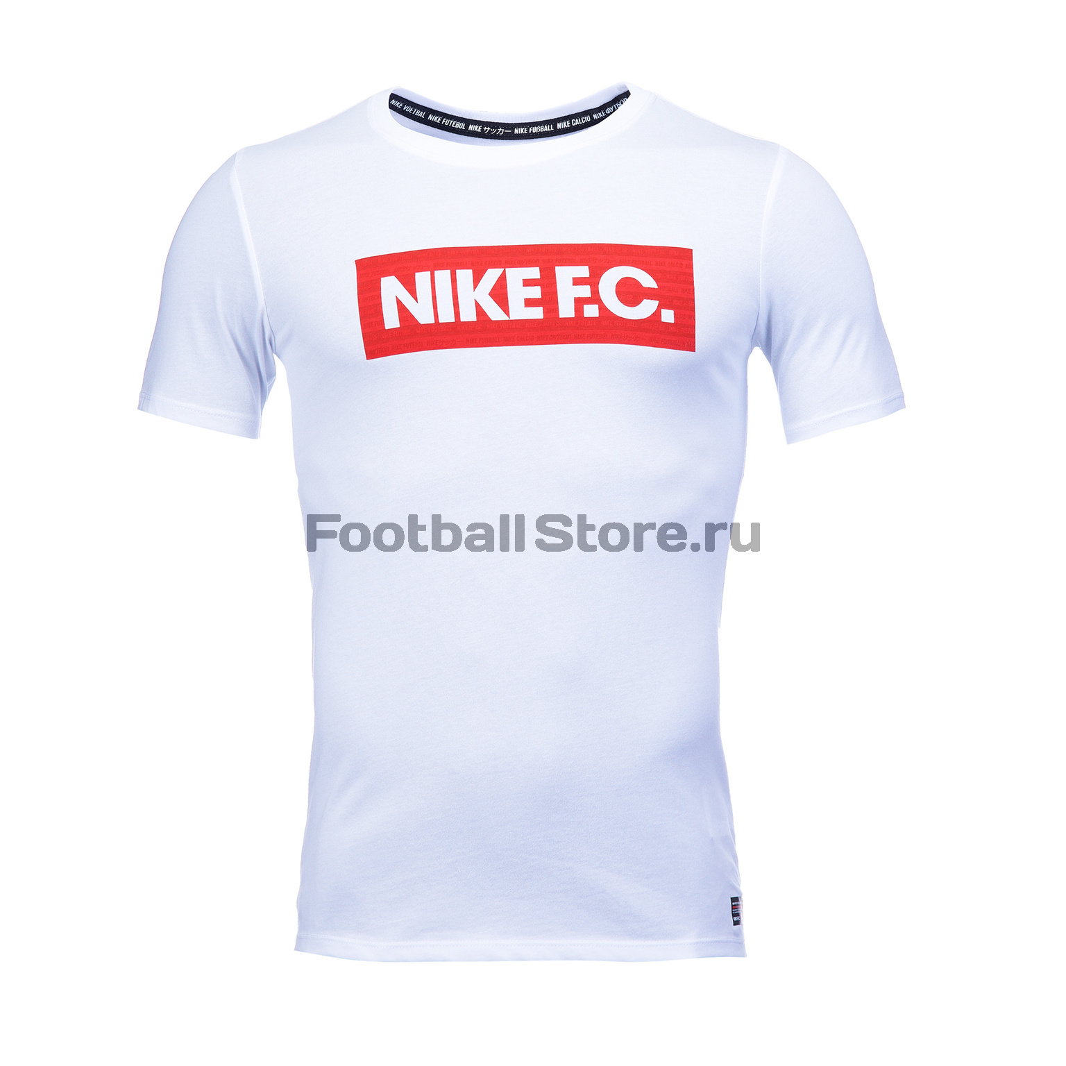 Футболка Nike F.C. Dry Tee Seasonal Block AH9661-100 цена