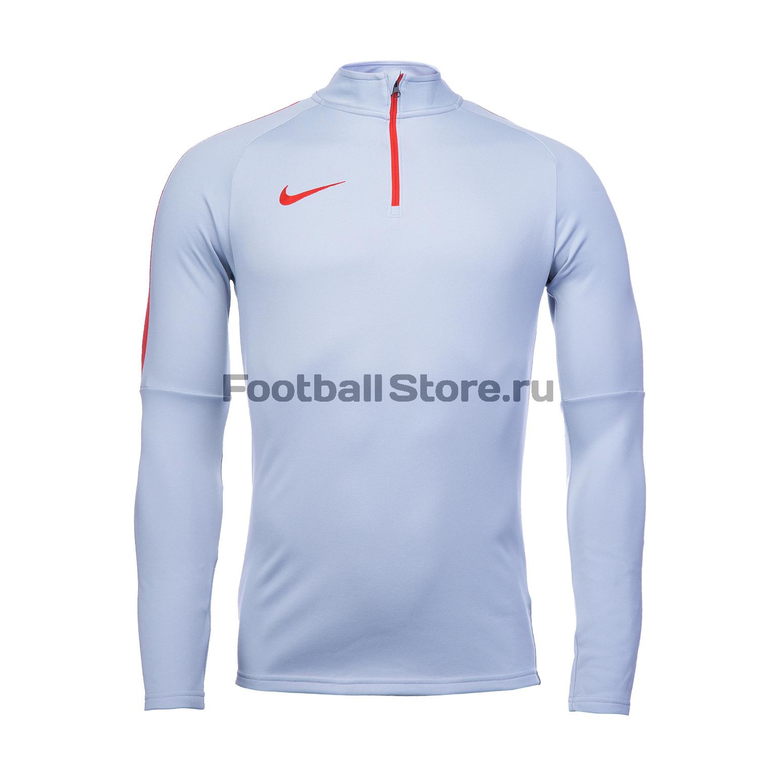 Свитер тренировочный Nike Academy 839344-012 лонгслив мужской nike dry football drill top цвет черный 839344 013 размер s 44 46