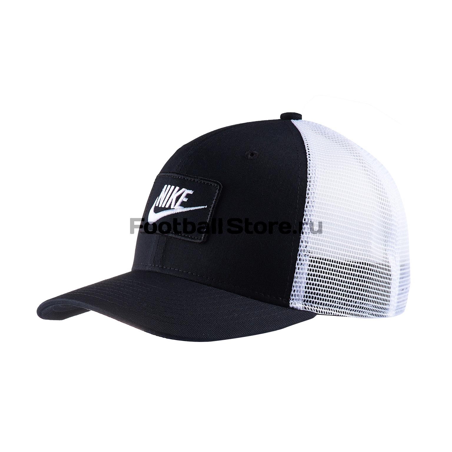 Бейсболка Nike Sportswear Cap Trucker AQ9879-010