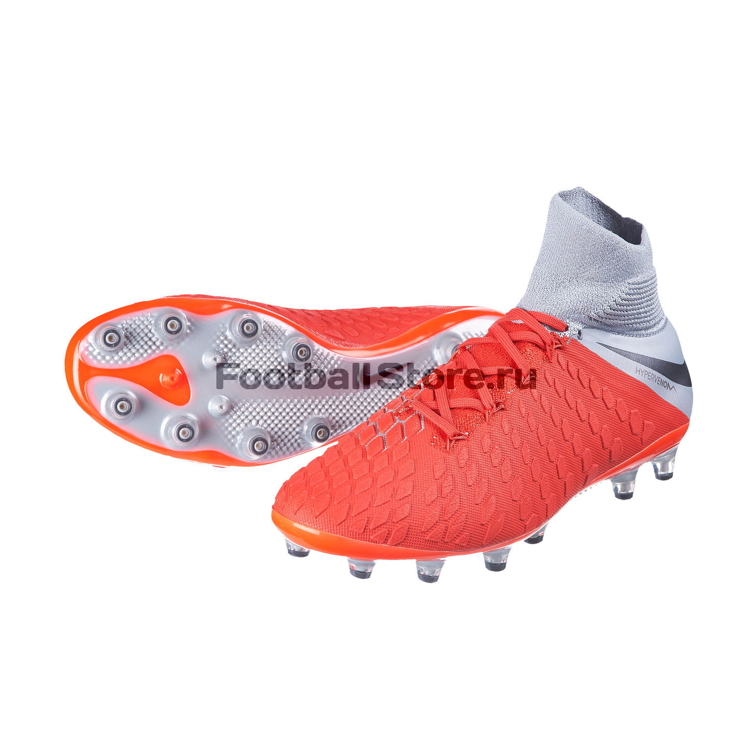Бутсы Nike Hypervenom 3 Elite DF AG-Pro AJ3819-600 бутсы nike шиповки nike jr tiempox legend vi tf 819191 018