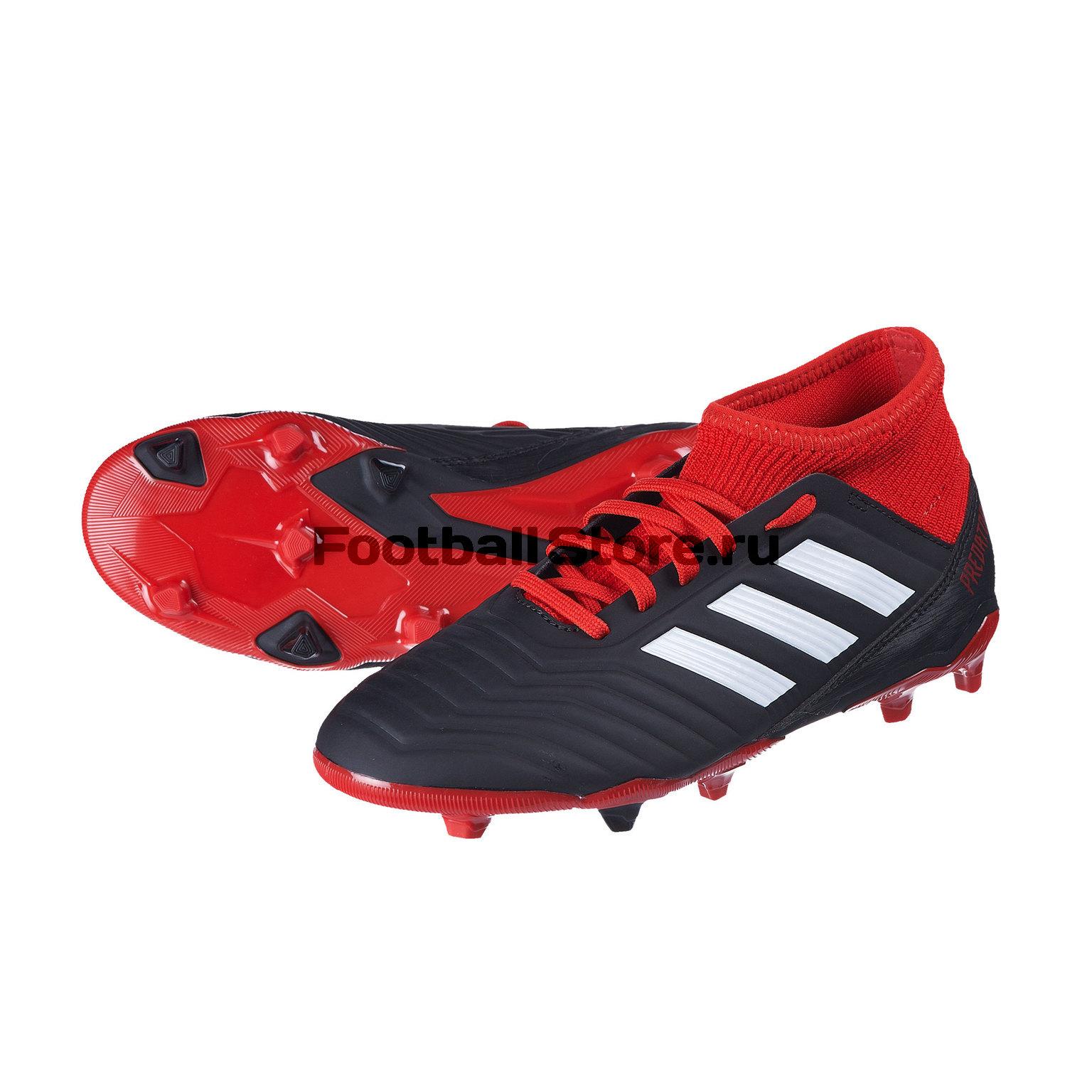 Бутсы детские Adidas Predator 18.3 FG DB2318 цена