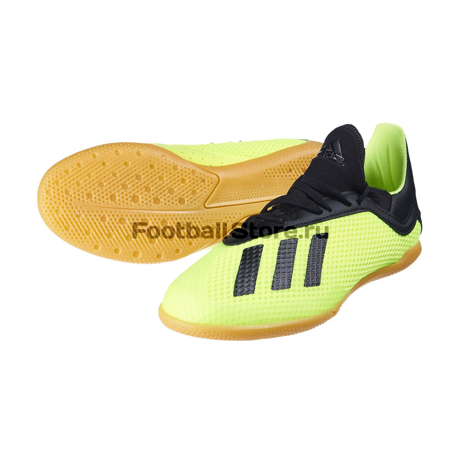 Футзалки детские Adidas X Tango 18.3 IN DB2426 футзалки детские adidas copa  tango 18 4 in e81bf3bb064