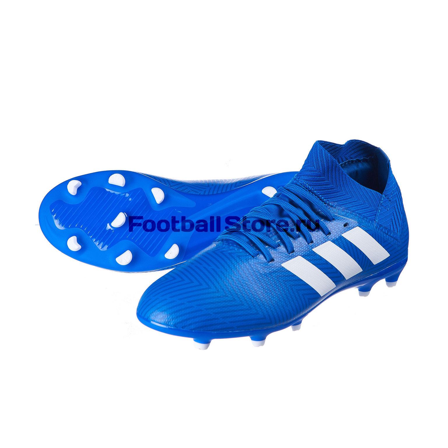 Бутсы детские Adidas Nemeziz 18.3 FG DB2351 бутсы adidas nemeziz 18 3 fg da9590