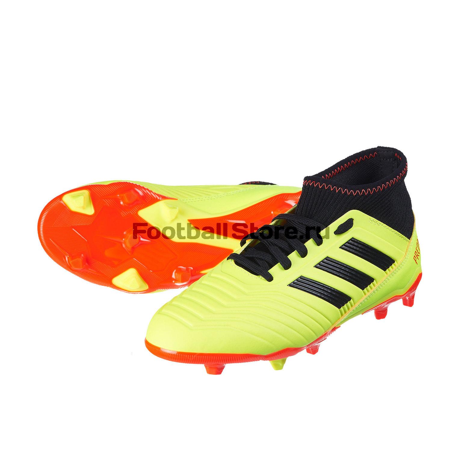 Бутсы детские Adidas Predator 18.3 FG DB2319 бутсы adidas predator 18 fg db2010