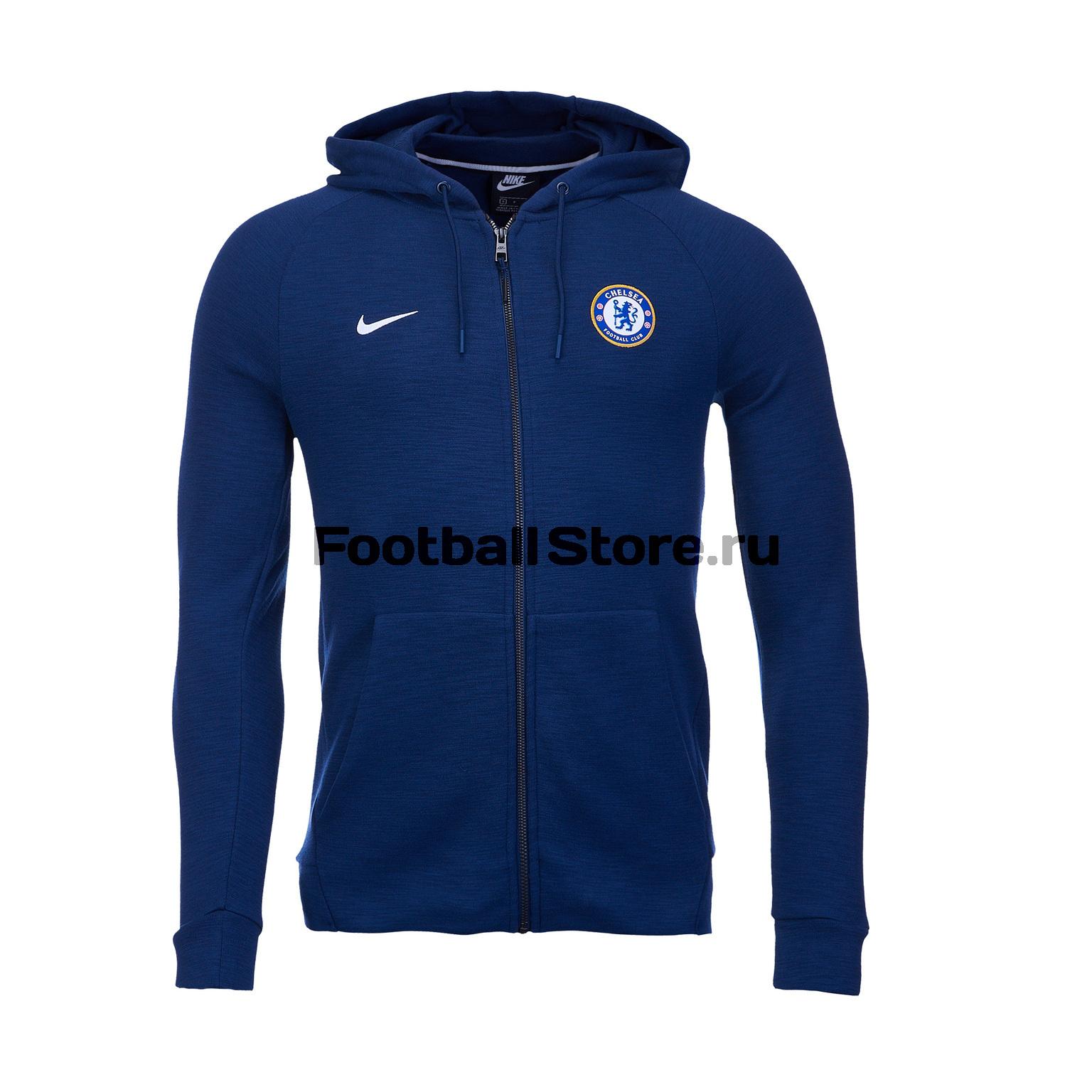 Толстовка  капюшоном Nike Chelsea 2018/19