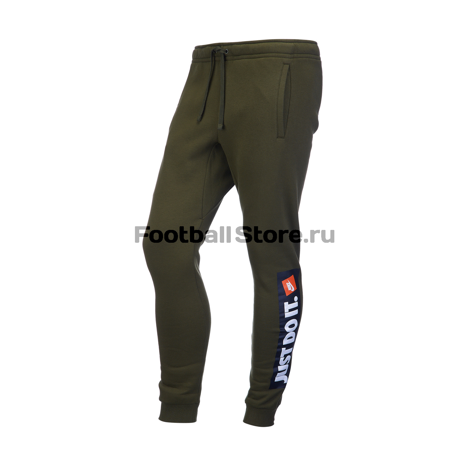 Брюки тренировочные Nike Just Do It NSW FLC 928725-395 брюки тренировочные nike m nsw jogger club flc 804408 063