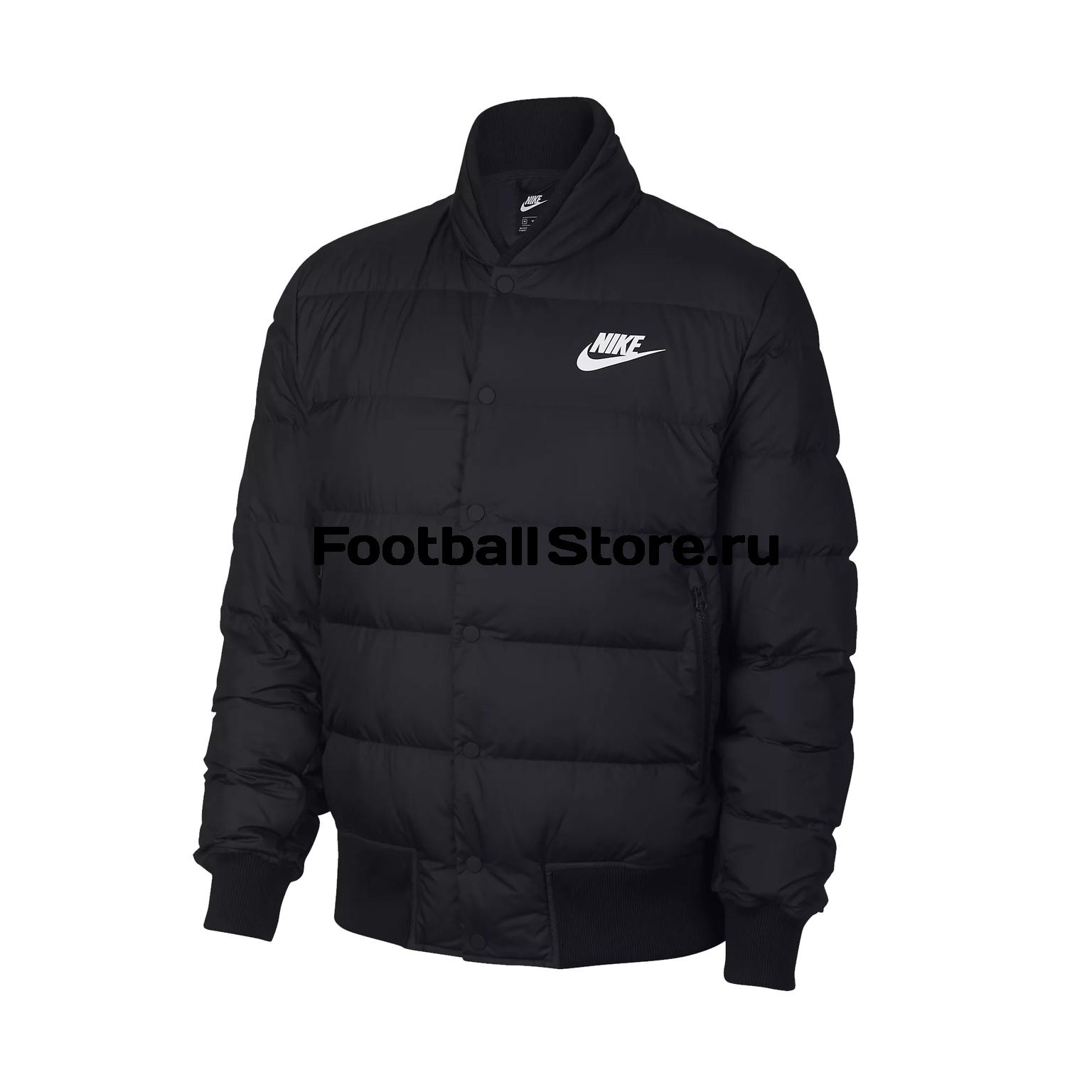 Куртка утепленная Nike Down Fill Bomber 928819-010 куртка nike m nsw down fill bomder 928819 043