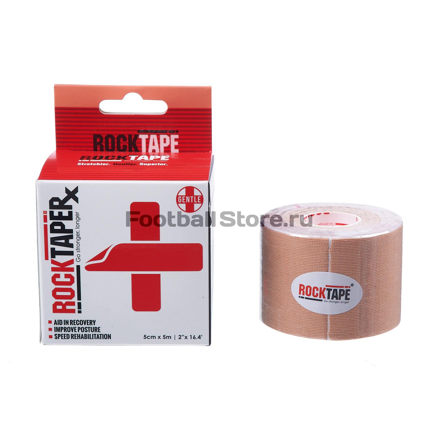 Тейп RocktapeRX Кинезиотейп, 5см x 5м, телесный набор форм для выпечки menu 5см 3 5см 50шт бумага