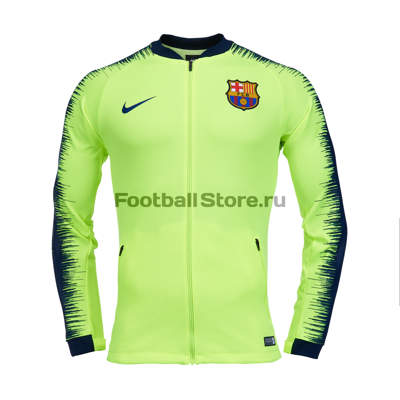 Олимпийка Nike FC Barcelona JKT 894361-705 олимпийка мужская adidas tan club h jkt цвет черный dw9360 размер xs 40 42