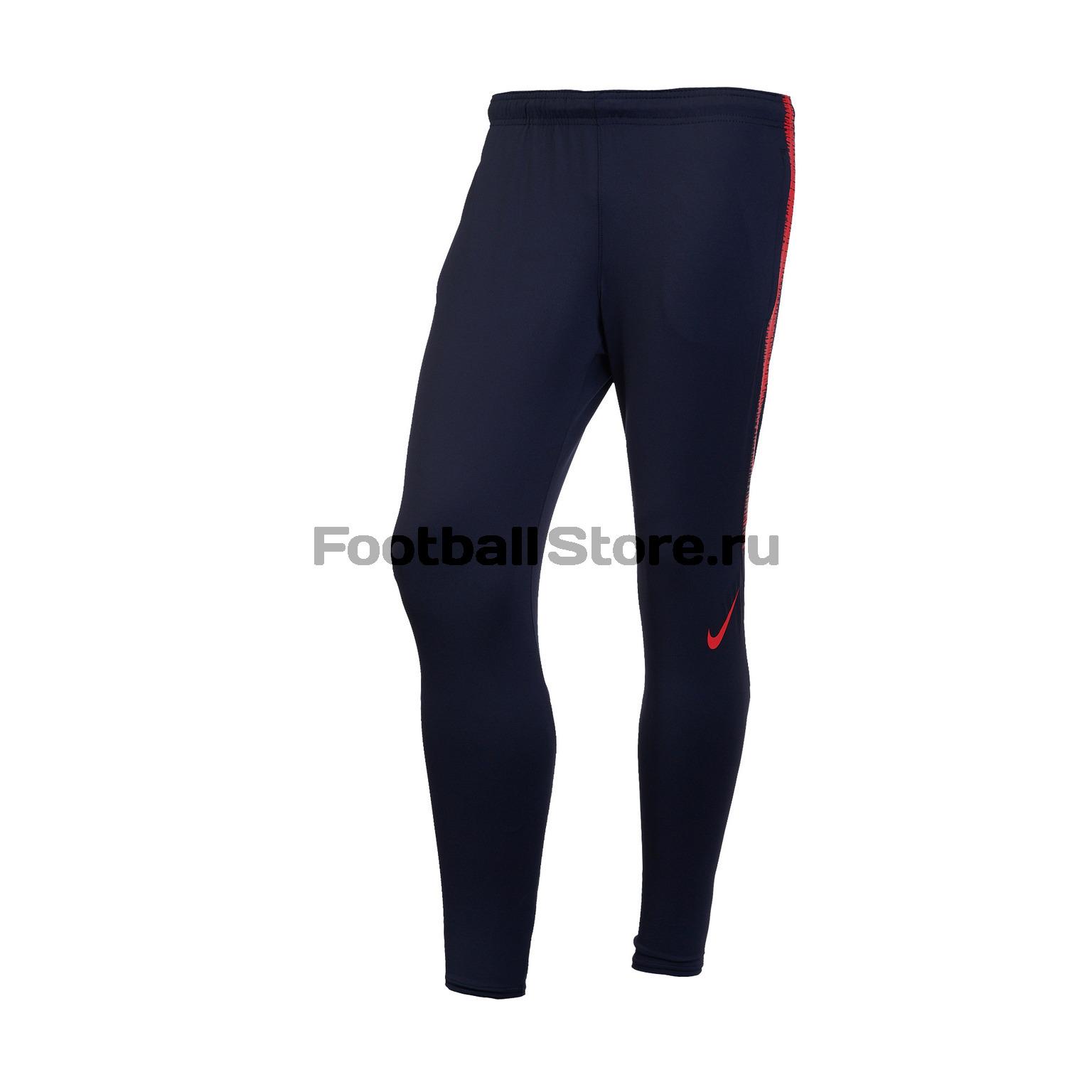 Брюки тренировочные Nike Dry Squad Pant 894645-016 nike леггинсы для девочки nike ya leg aop tght pant yth nike