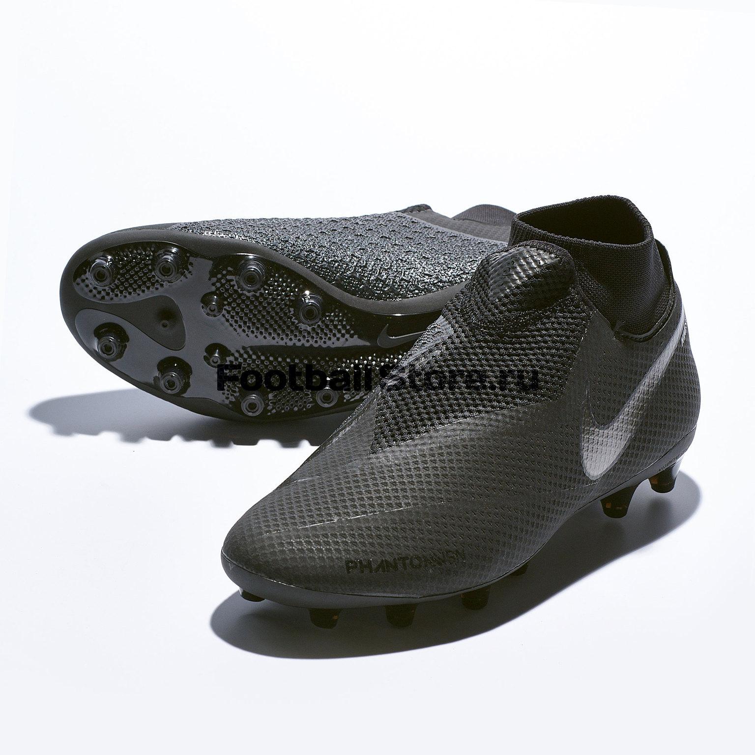 Бутсы Nike Phantom Vision Pro DF AG-Pro AO3089-001 нижнее белье nike 654876 341 pro combat