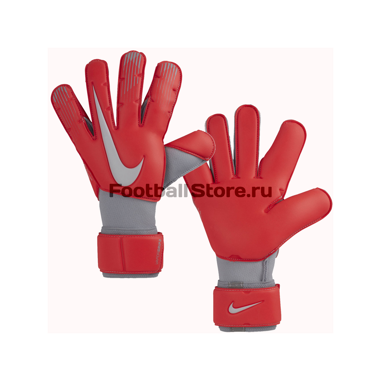 Вратарские перчатки Nike Vapor Grip3 GS0352-671 спортинвентарь nike чехол для iphone 6 на руку nike vapor flash arm band 2 0 n rn 50 078 os