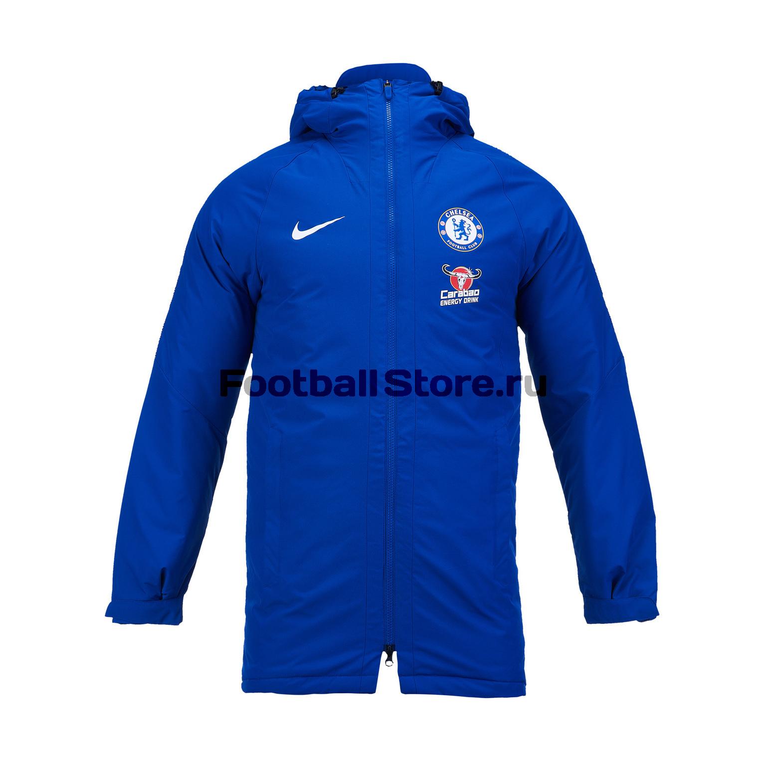Куртка Nike Chelsea Squad Jacket AJ3057-496 спортивная куртка nike as shield light jacket 3m 642361 496