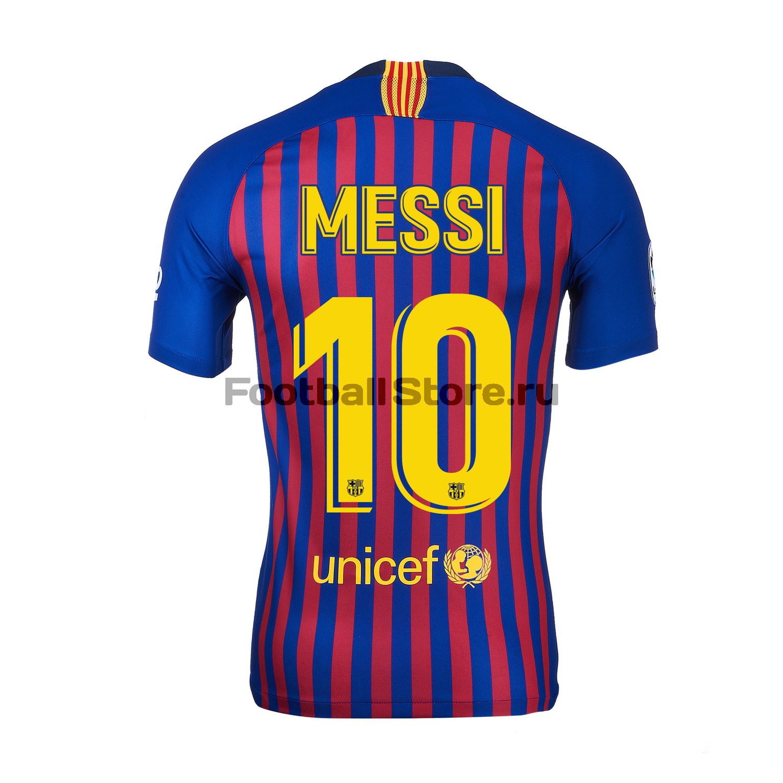 Футболка игровая домашняя Nike Барселона Месси