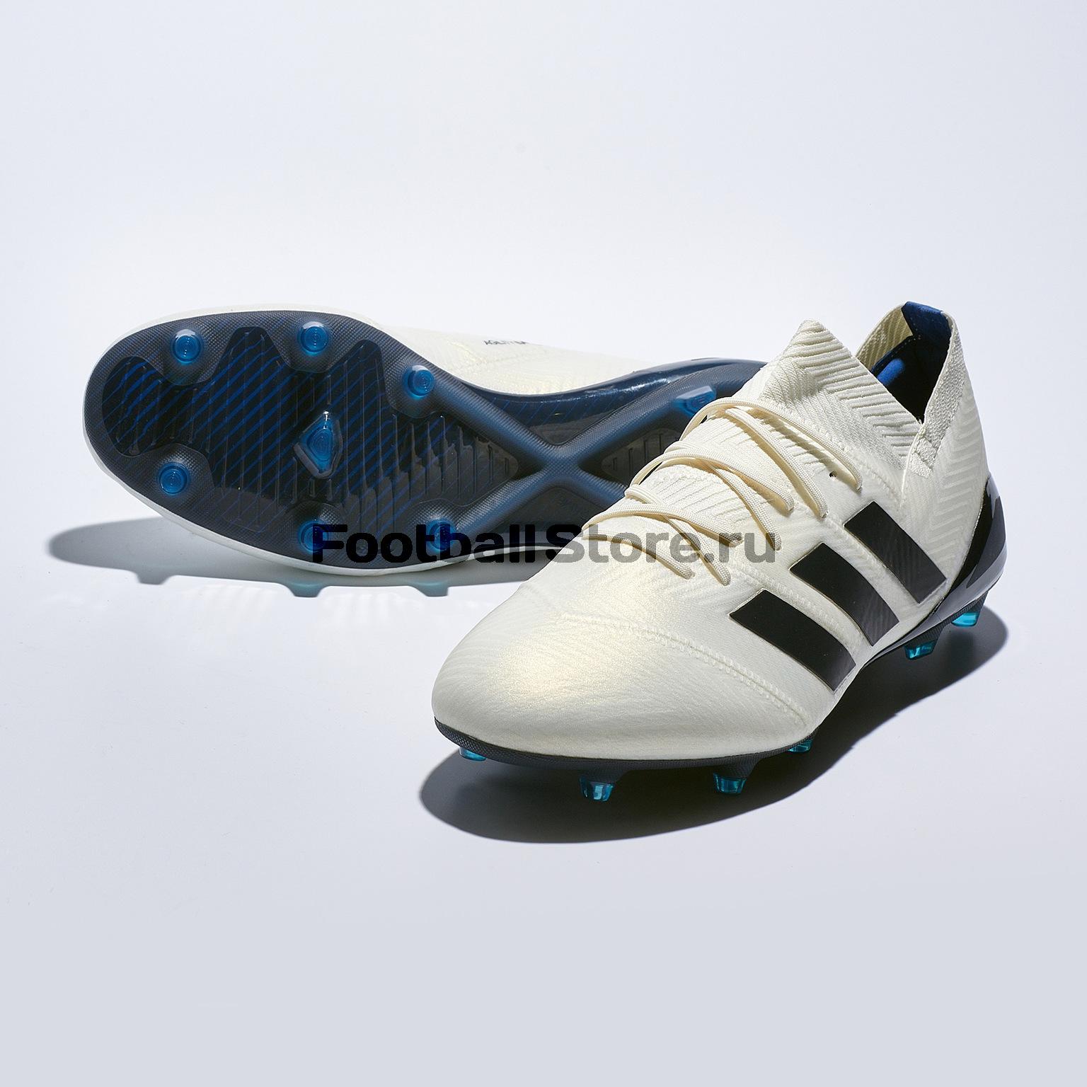 Бутсы Adidas Nemeziz 18.1 FG CG6440 бутсы adidas nemeziz messi 17 1 fg cp9028