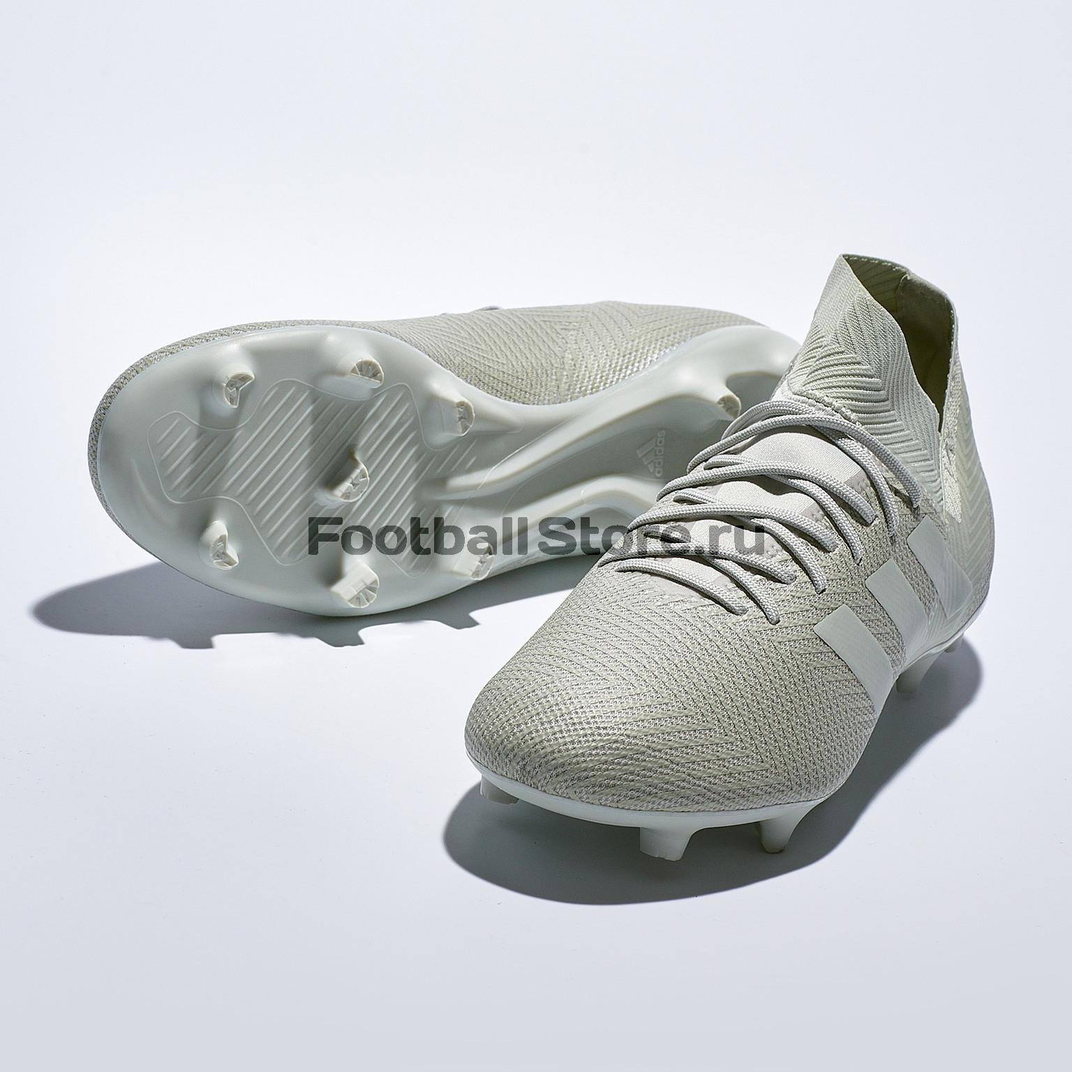 Бутсы Adidas Nemeziz 18.3 FG DB2110 игровые бутсы adidas бутсы adidas x 16 purechaos fg bb5615