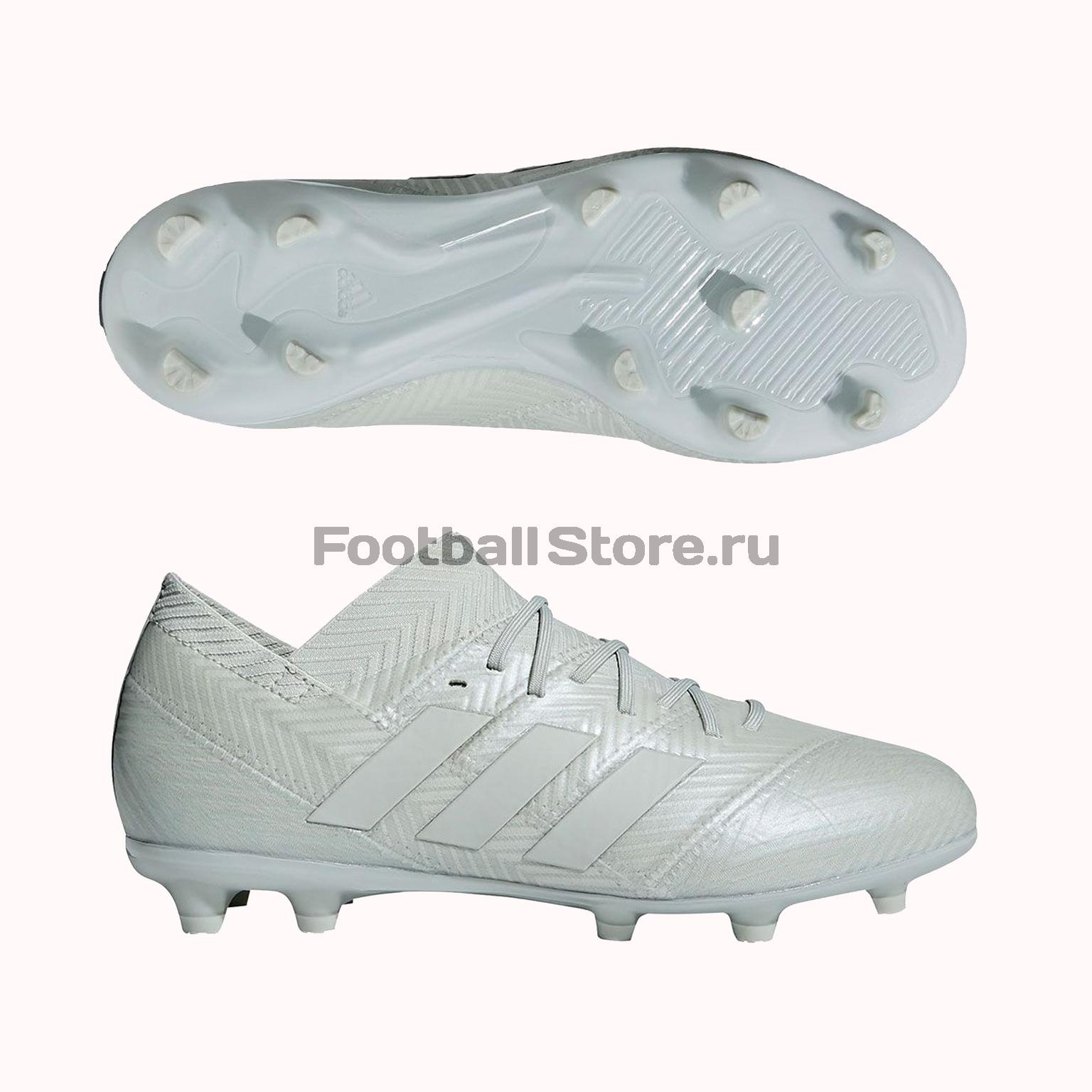 Бутсы детские Adidas Nemeziz 18.1 FG DB2349 бутсы adidas messi 16 1 fg jr bb3852