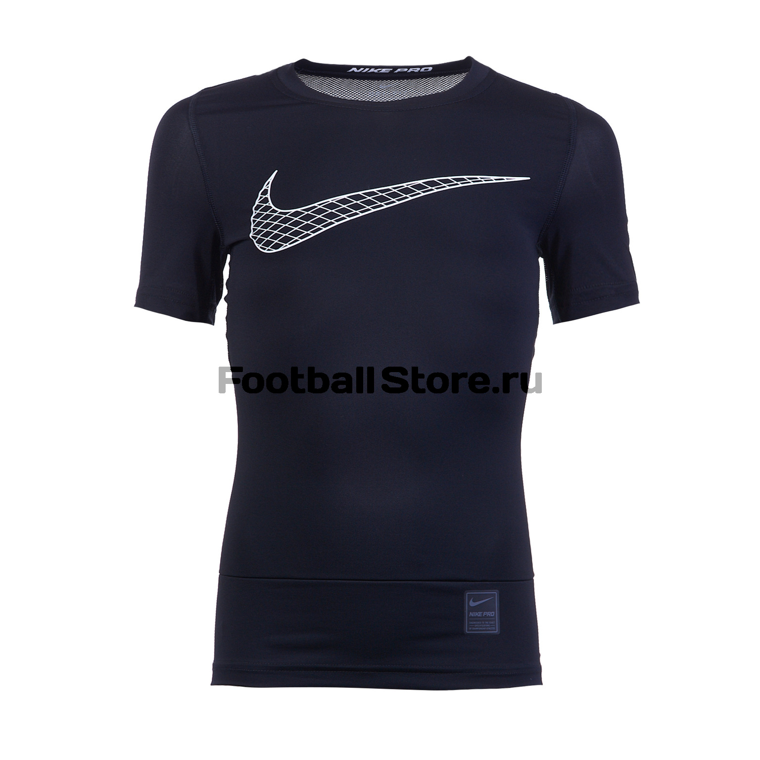 Белье футболка подростковая Nike COMP SS 858233-011 original new arrival 2017 nike np hprcl top ss comp men s t shirts short sleeve sportswear