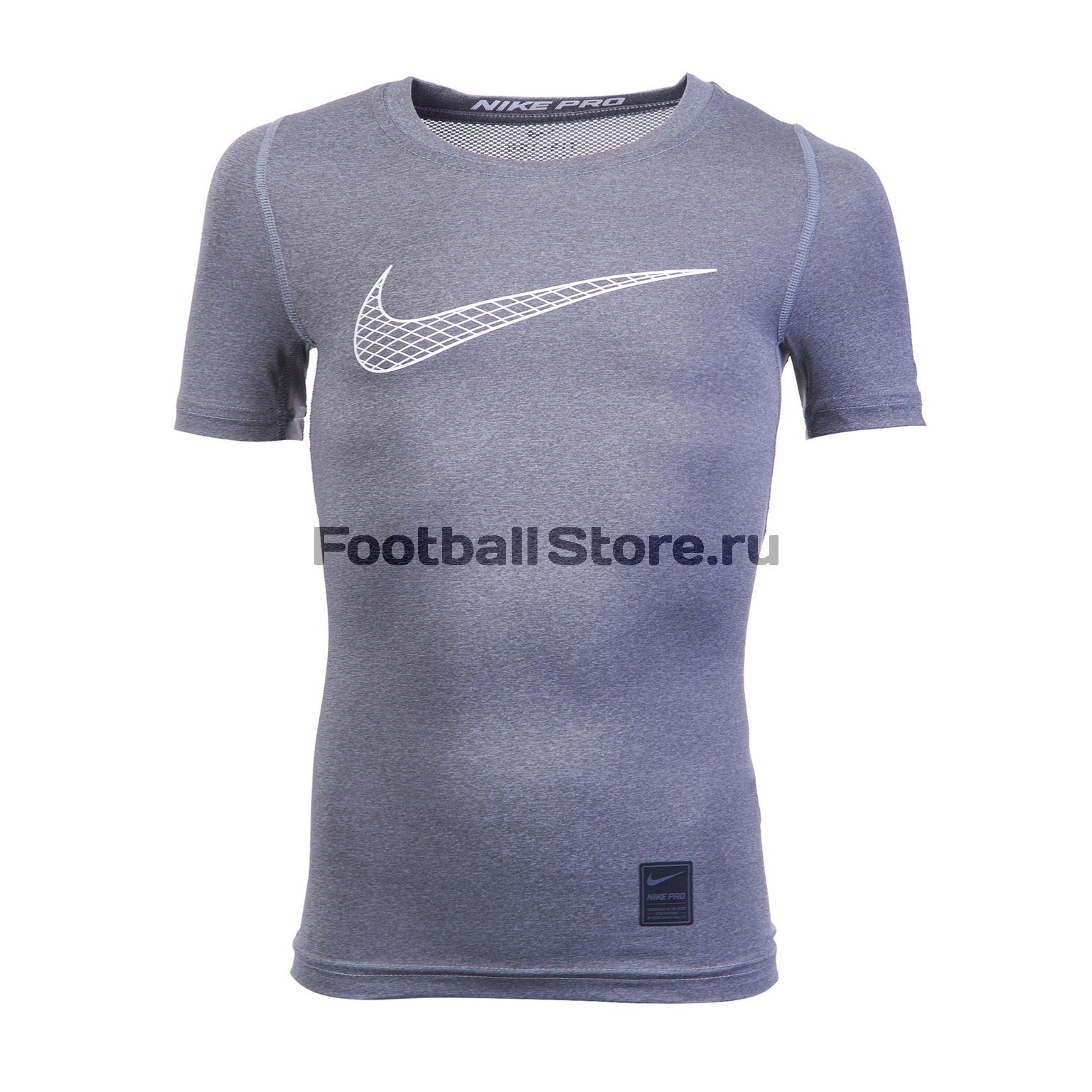 Белье футболка подростковая Nike COMP SS 858233-065 original new arrival 2017 nike np hprcl top ss comp men s t shirts short sleeve sportswear
