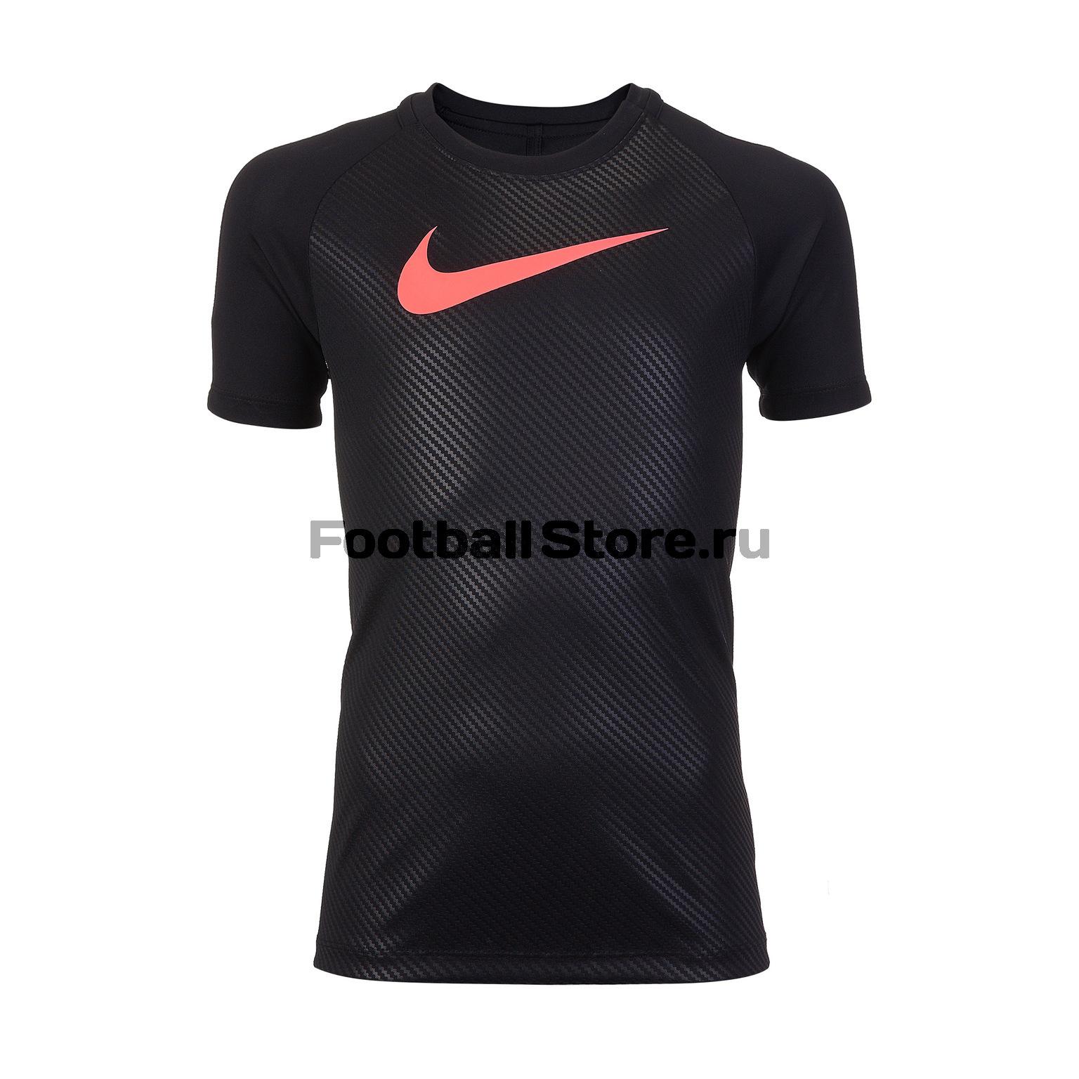 Футболка подростковая Nike Dry Academy AJ4229-010 олимпийка подростковая nike academy 588400 657