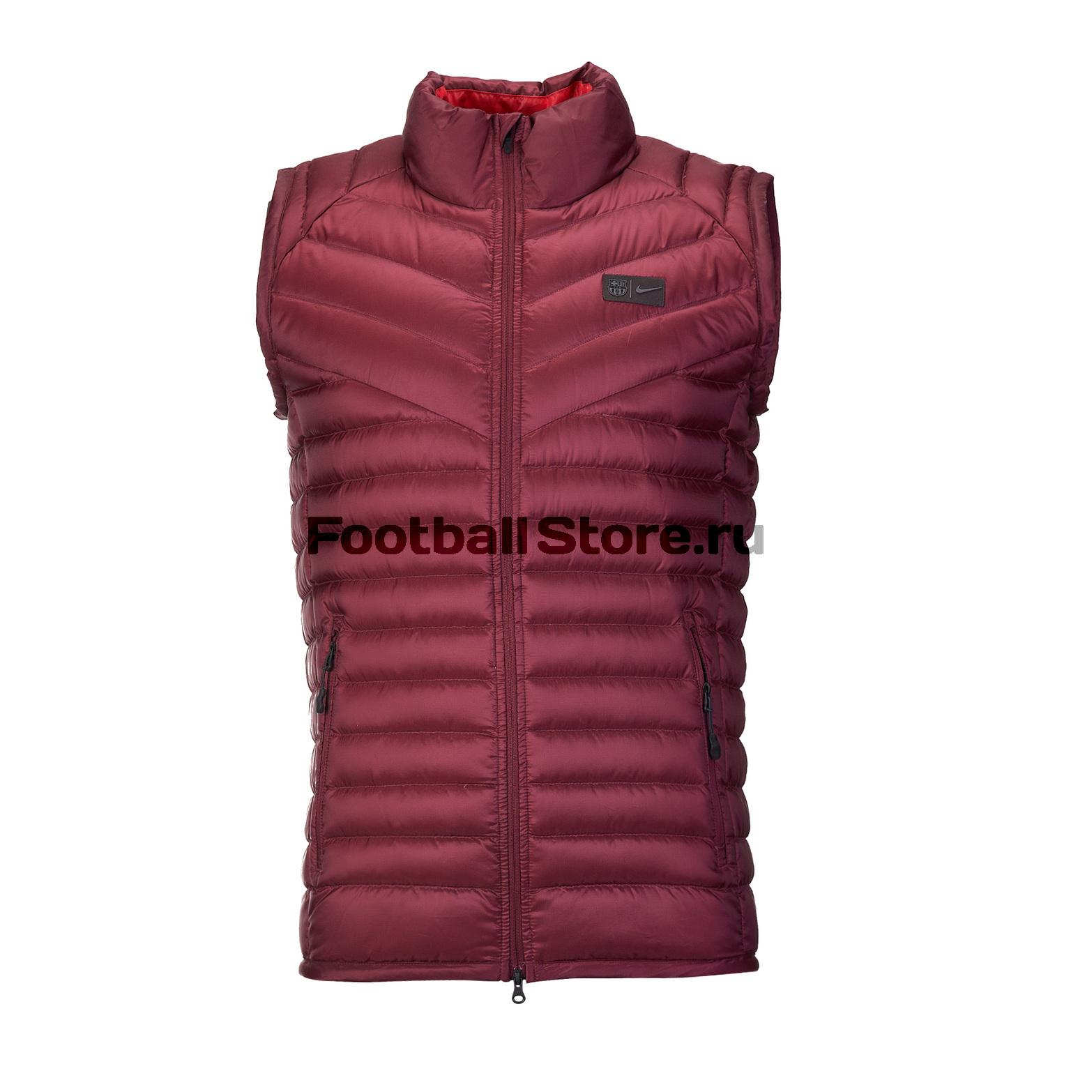 Жилет Nike FC Barcelona Down Vest Aut AH7440-669 цена