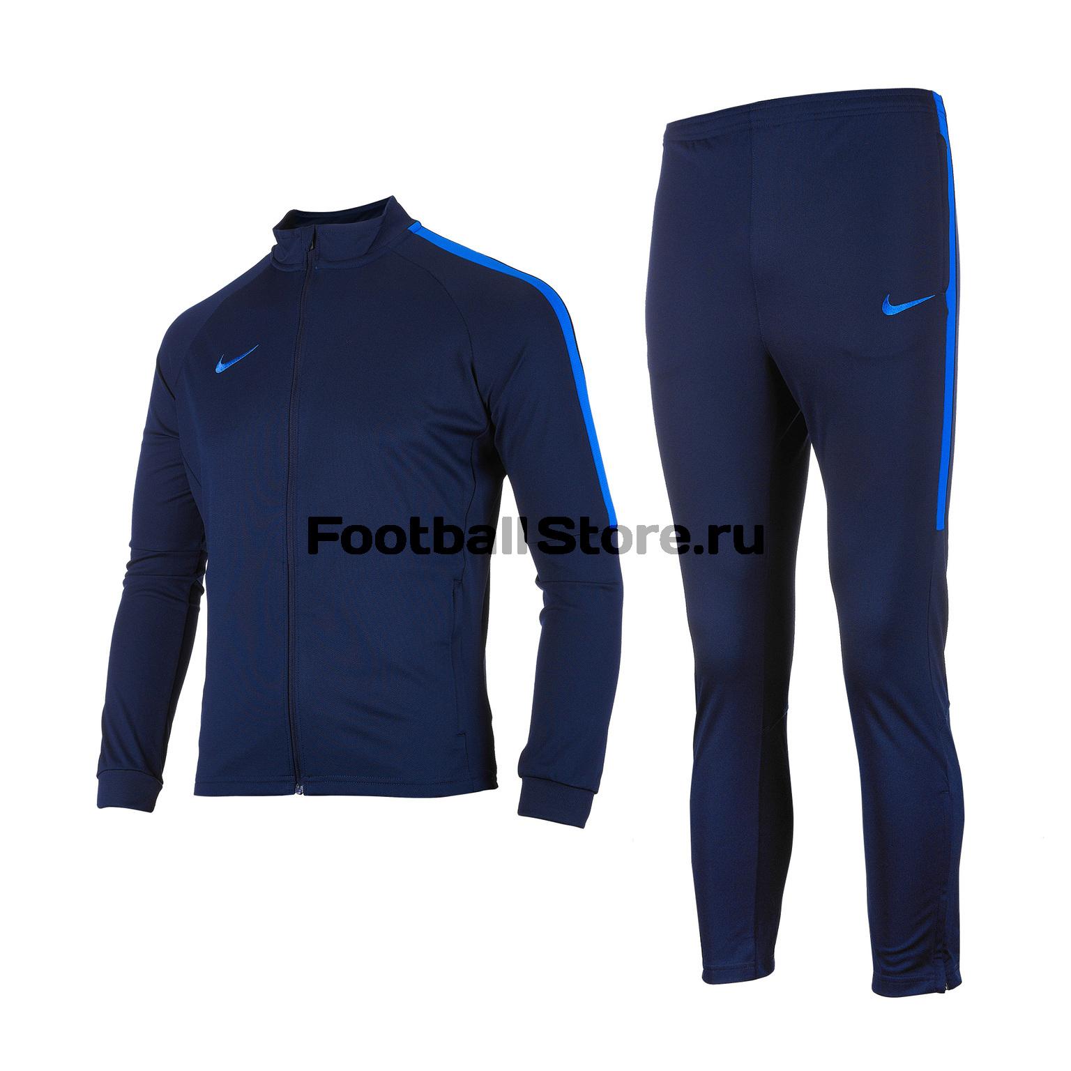 Костюм спортивный подростковый Nike Dry Academy TRK Suit 844714-458 костюм спортивный nike m dry acdmy trk suit 844327 451