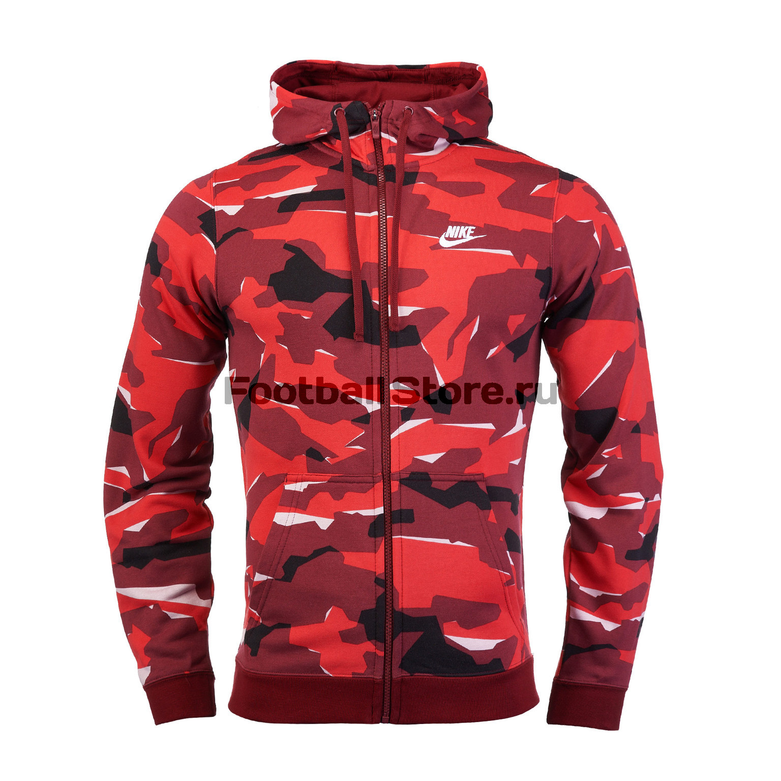 Толстовка Nike Club Camo Hoodie AQ0596-677