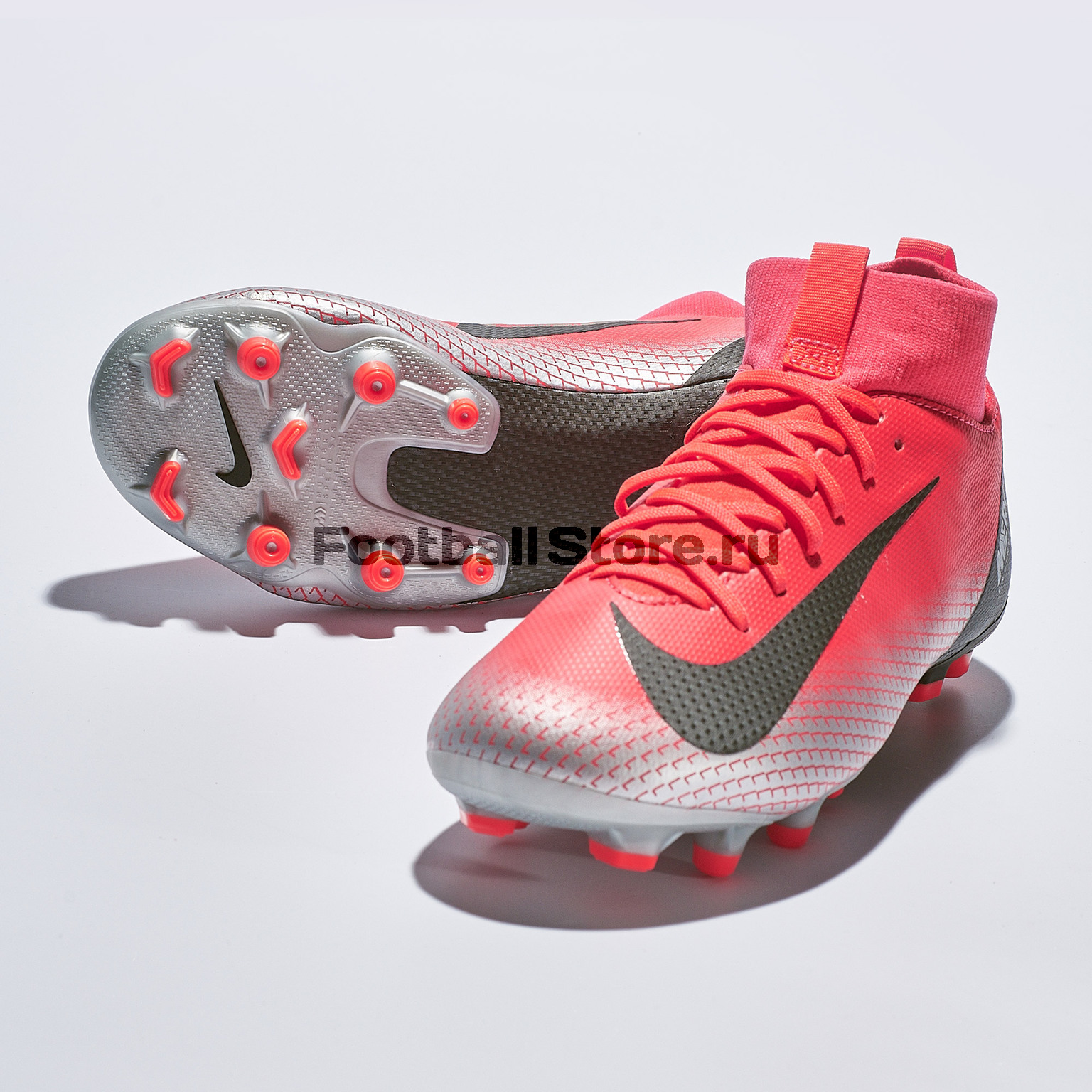 Бутсы детские Nike Superfly Academy GS CR7 FG/MG AJ3111-600 бутсы nike mercurial victory iii fg 509128 800