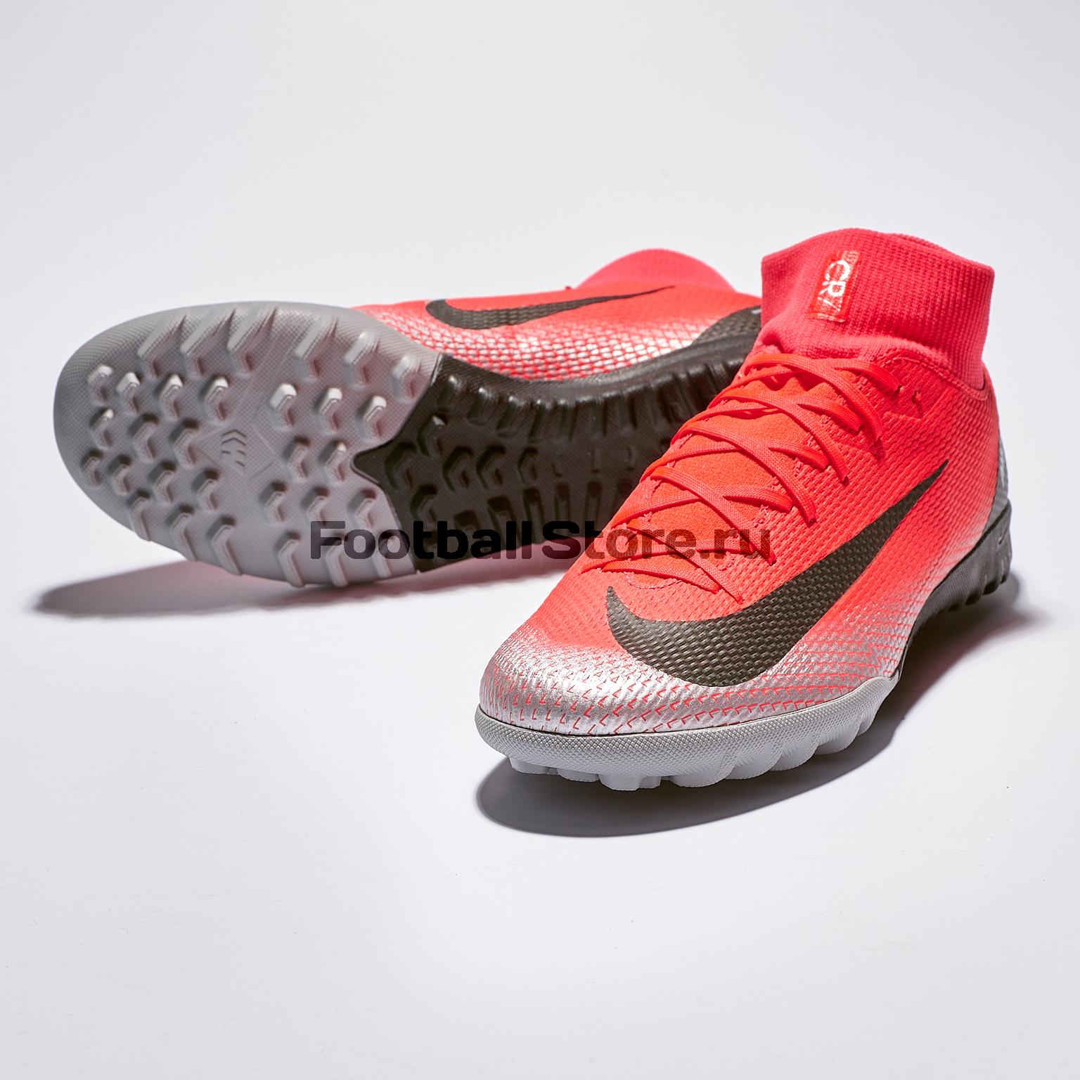 Шиповки Nike Superfly 6 Academy CR7 TF AJ3568-600 бутсы nike superfly 6 elite sg pro ac ah7366 060