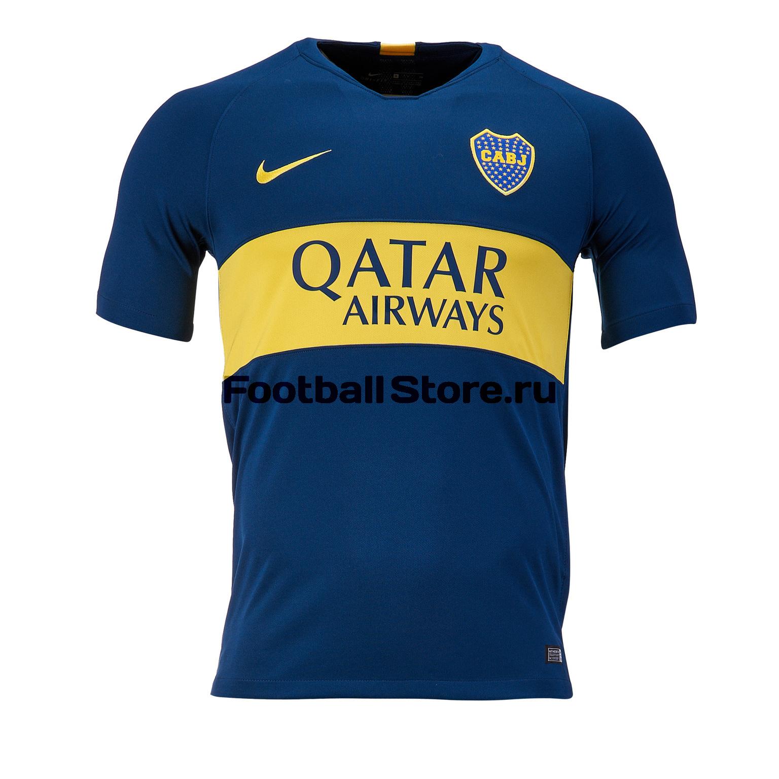 Футболка Nike Boca Juniors Stadium Home 894429-425