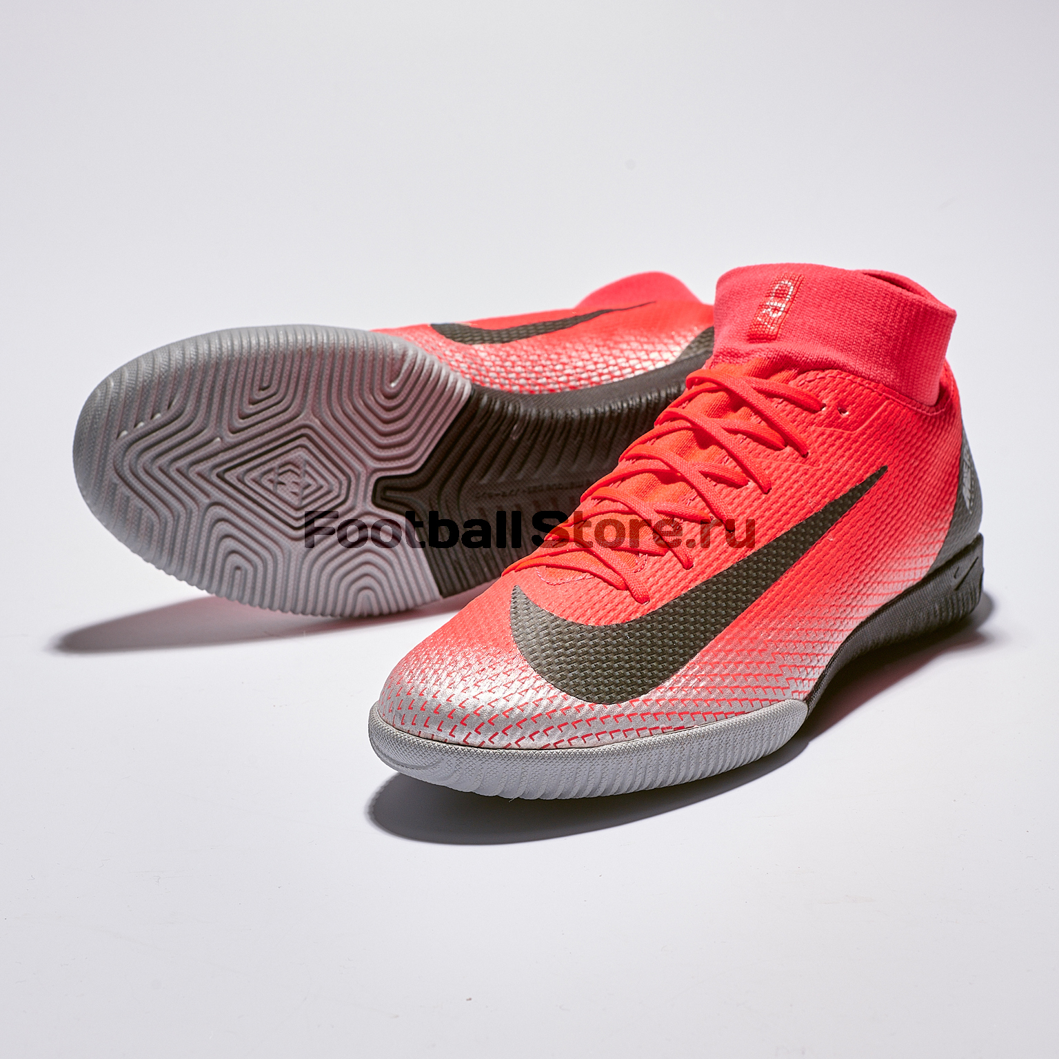 Футзалки Nike Superfly 6 Academy CR7 IC AJ3567-600 бутсы nike superfly 6 elite sg pro ac ah7366 060