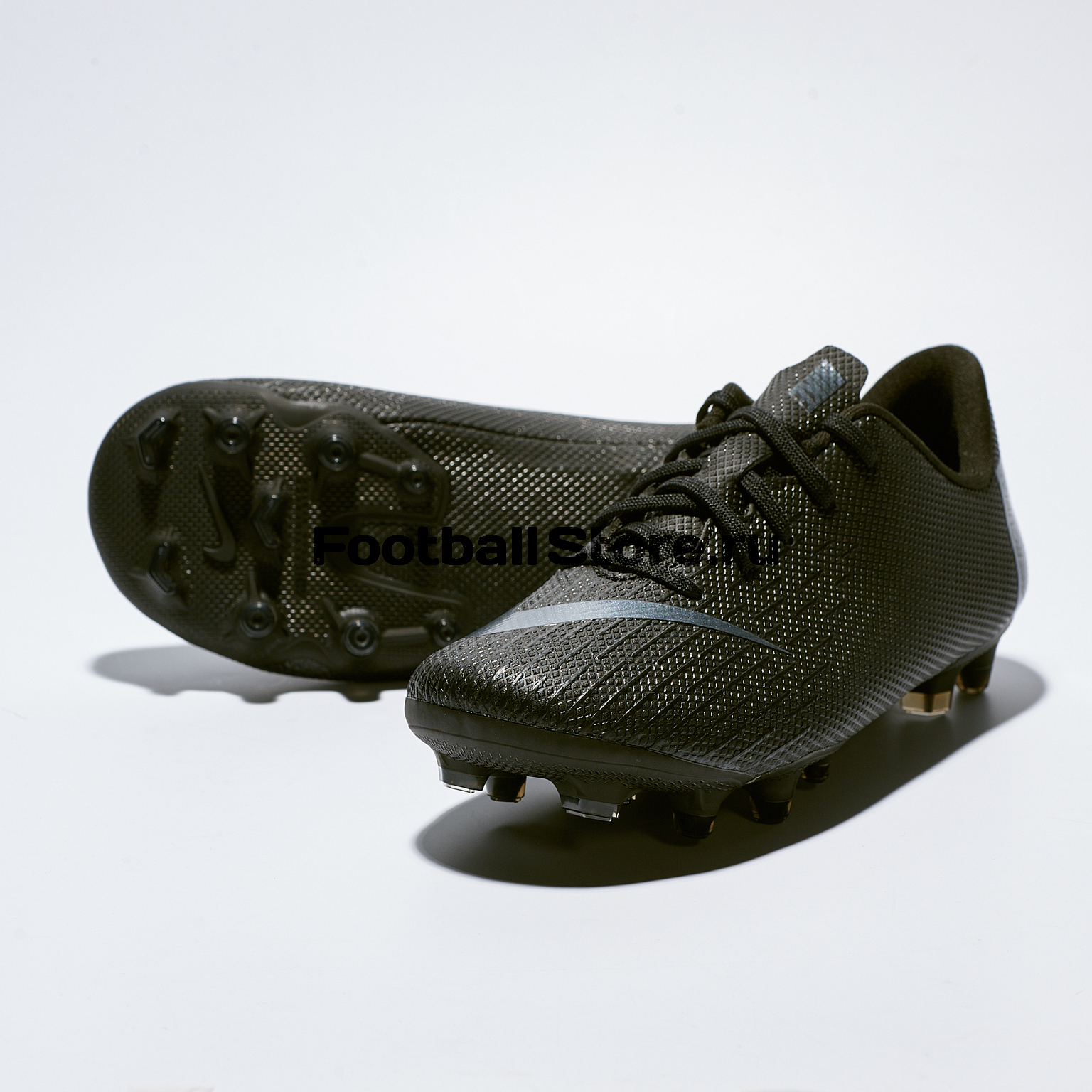 Бутсы детские Nike Vapor 12 Academy PS FG/MG AH7349-001 бутсы детские nike vapor 12 academy gs fg mg ah7347 070