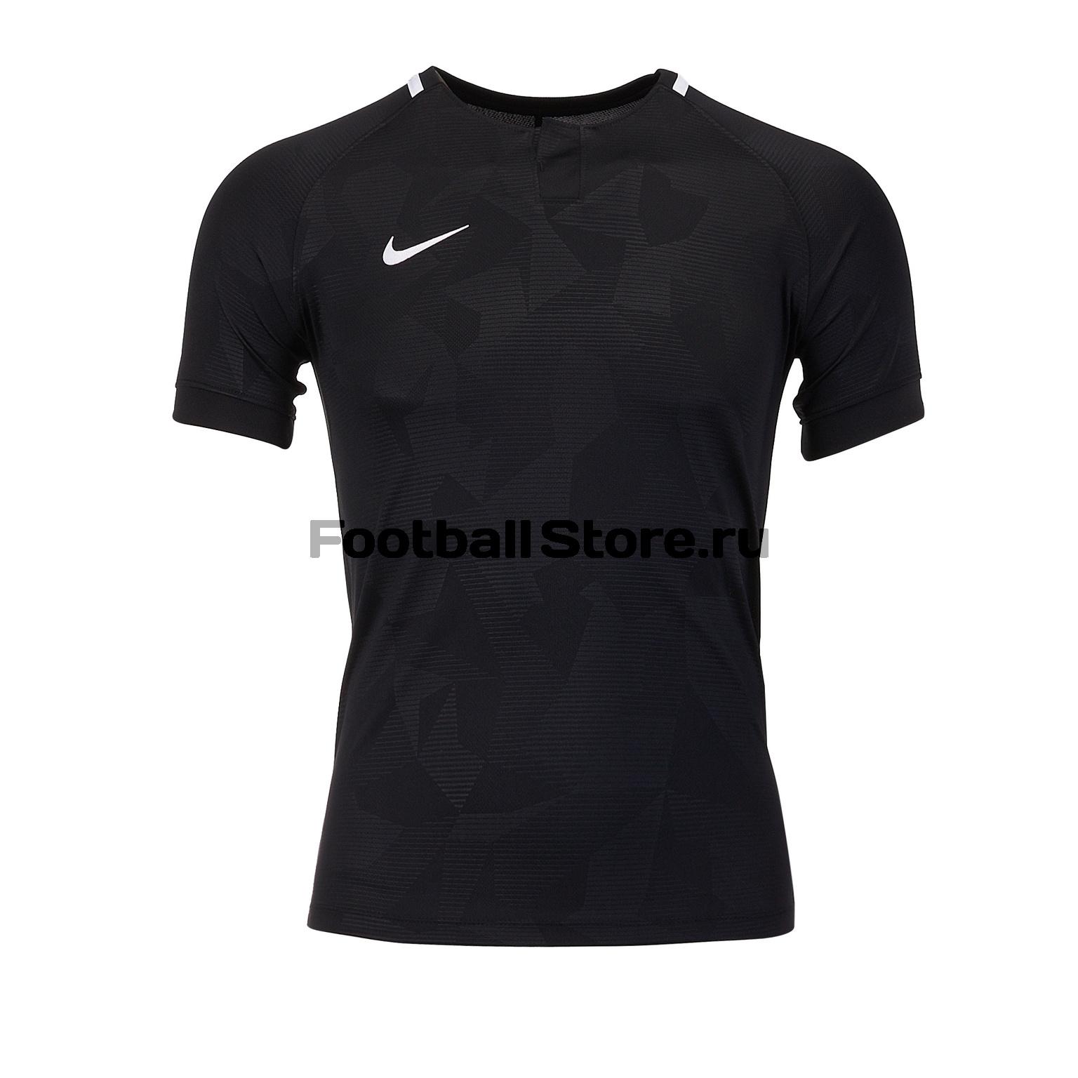 Футболка игровая подростковая Nike Dry Challenge II 894053-100 футболка игровая nike dry tiempo prem jsy ss 894230 411
