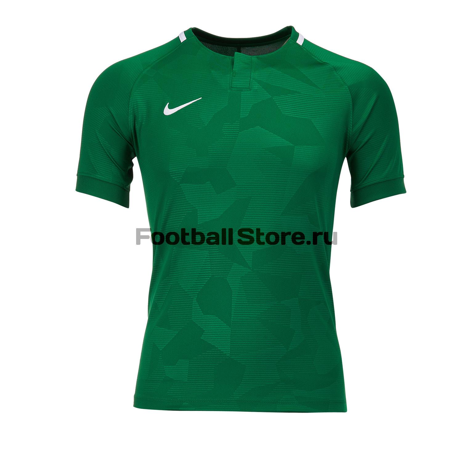 Футболка игровая детская Nike Dry Challenge II 894053-341 футболка игровая nike dry tiempo prem jsy ss 894230 411