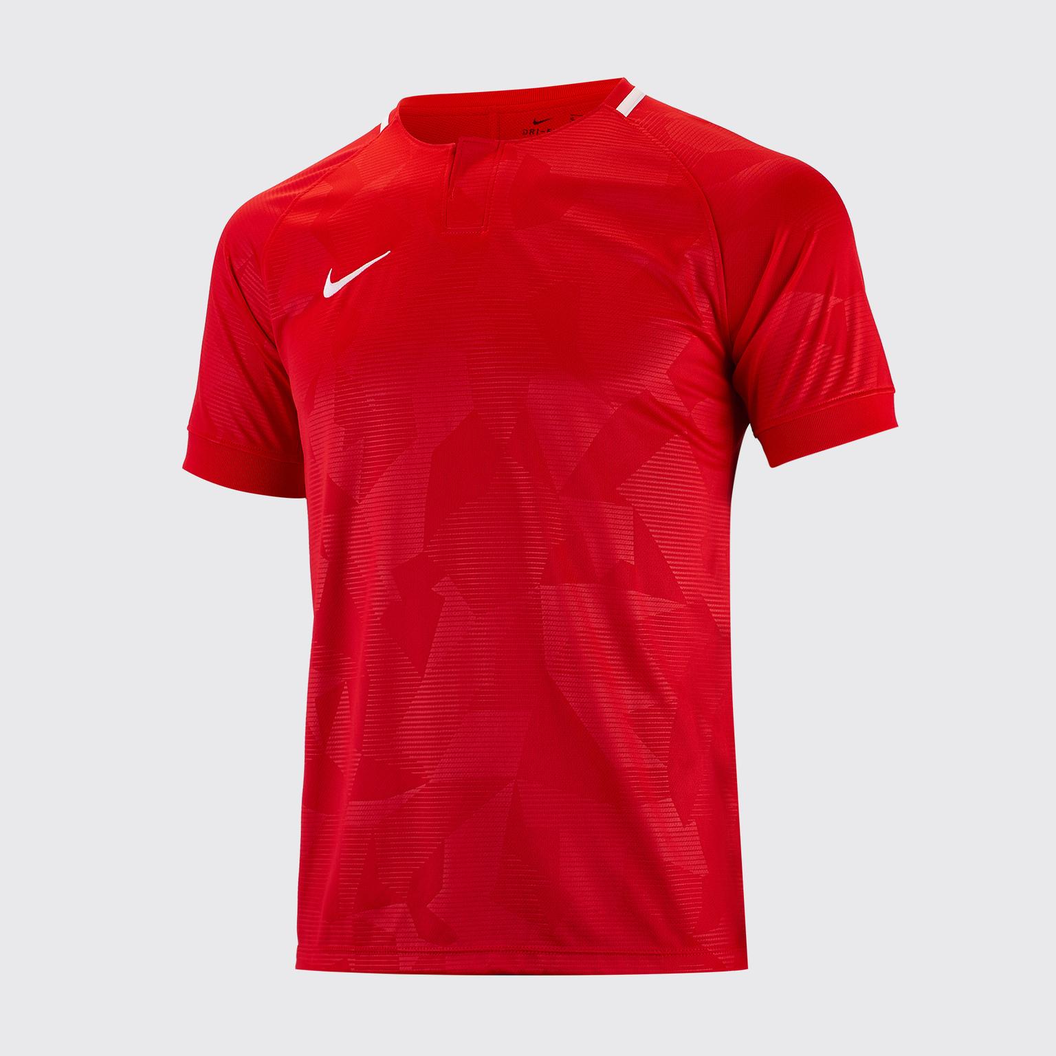 Футболка игровая детская Nike Dry Challenge II 894053-657 футболка игровая nike dry tiempo prem jsy ss 894230 411
