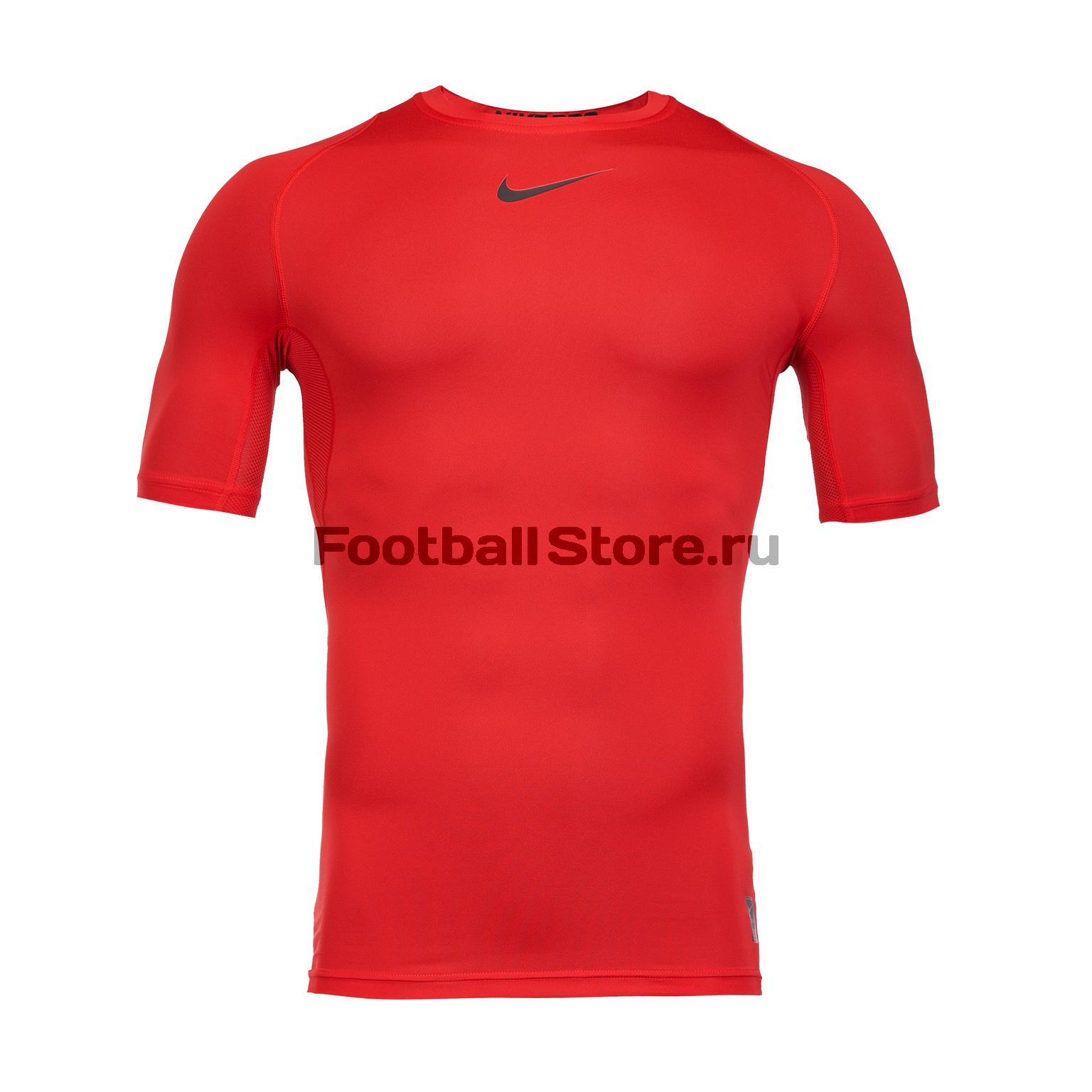 Белье футболка Nike Top SS Comp 838091-657 нижнее белье nike 654876 341 pro combat