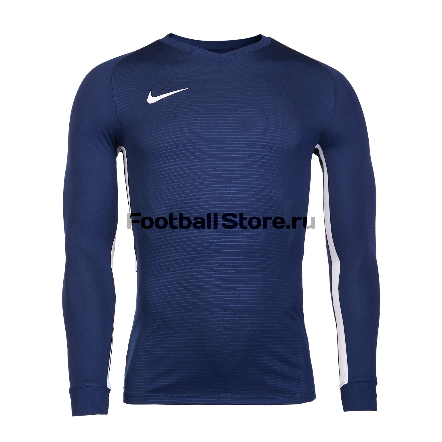Футболка игровая Nike Dry Tiempo Prem JSY LS 894248-411 футболка игровая nike dry tiempo prem jsy ss 894230 412