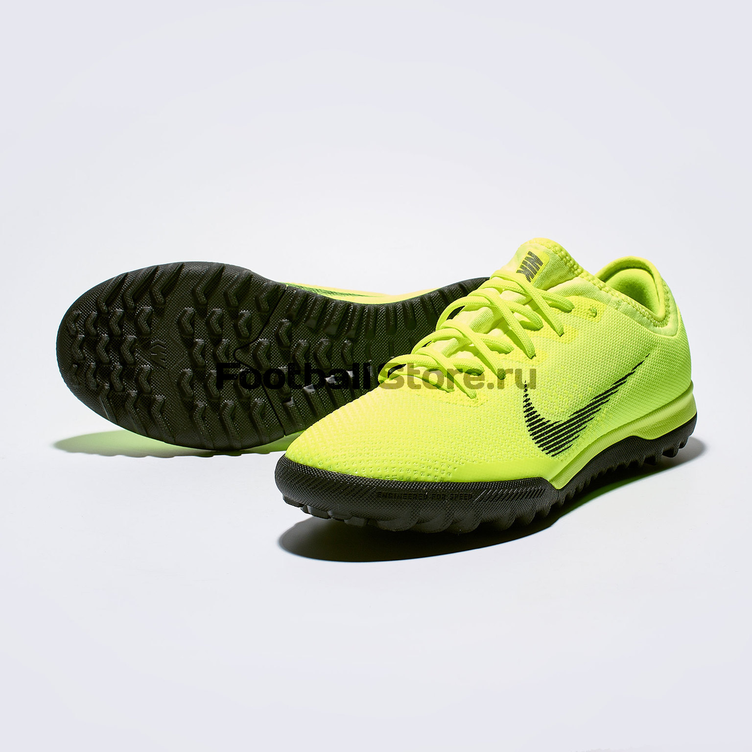 Шиповки Nike VaporX 12 Pro TF AH7388-701 original new arrival nike mercurial victory v tf men s light comfortable soccer shoes football sneakers
