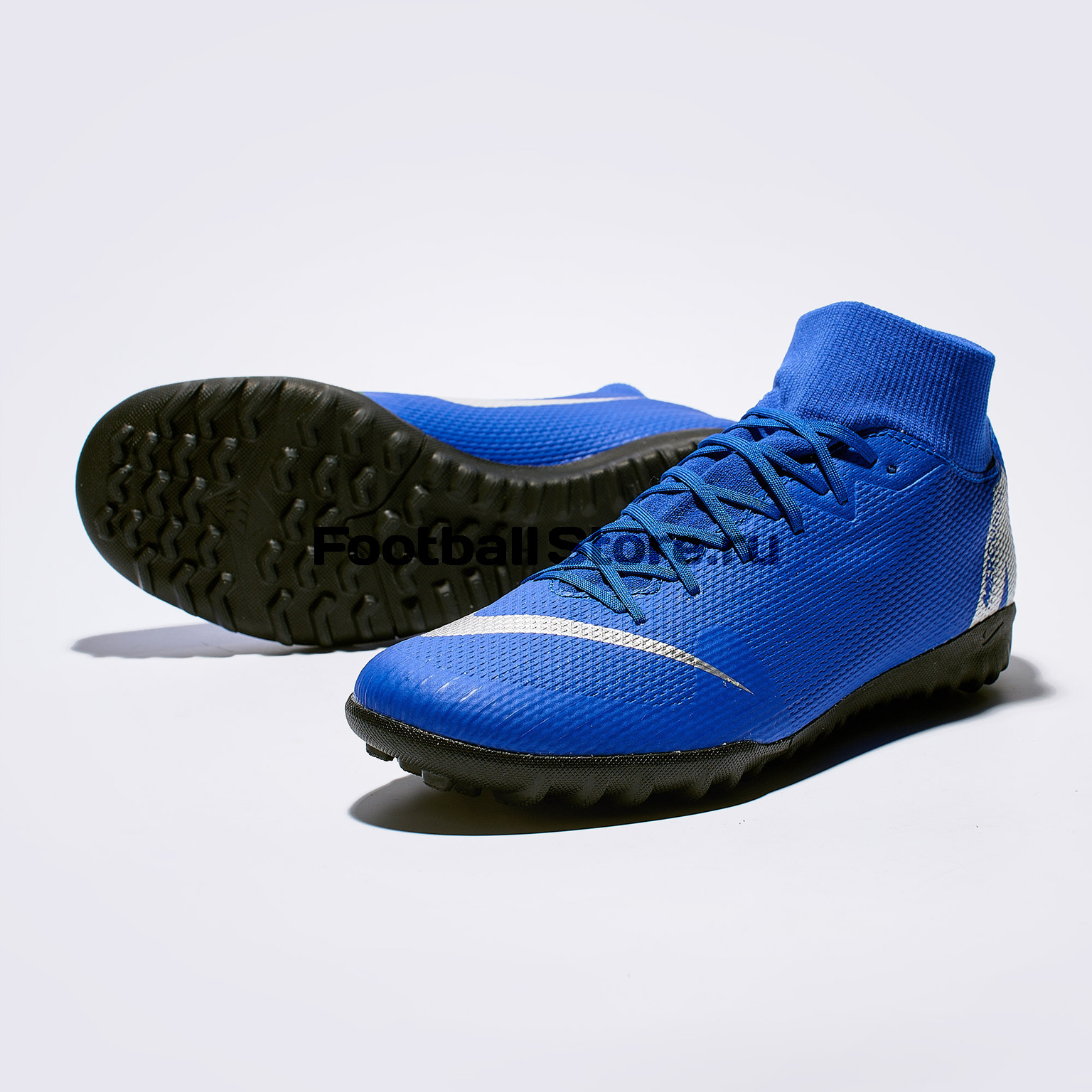 Шиповки Nike SuperFly X 6 Academy TF AH7370-400 бутсы nike шиповки nike jr tiempox legend vi tf 819191 018