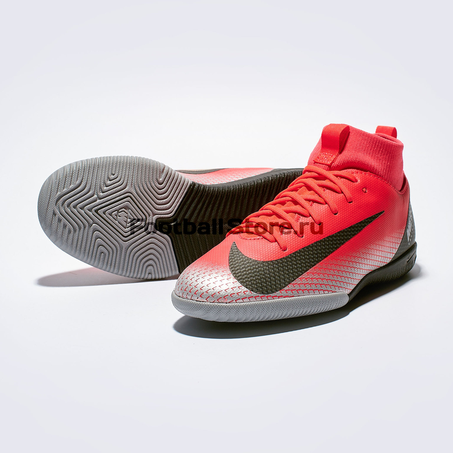 Футзалки детские Nike Superfly 6 Academy GS CR7 IC AJ3110-600 бутсы nike superfly 6 elite sg pro ac ah7366 060