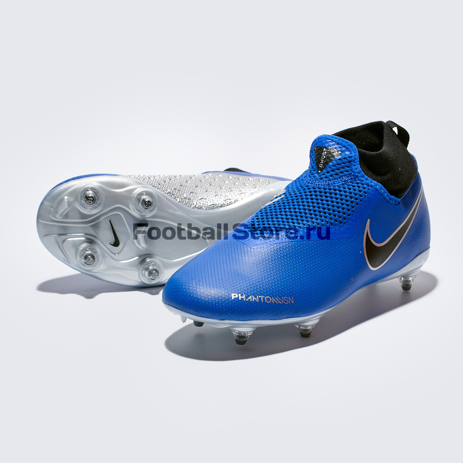 Бутсы детские Nike Phantom Vision Academy DF SG AQ9298-400 бутсы nike phantom vision elite df sg pro fc ao3264 060