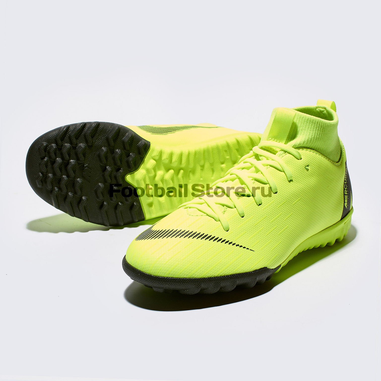 Шиповки детские Nike SuperFly X Academy GS TF AH7344-701 бутсы nike шиповки nike jr tiempox legend vi tf 819191 018